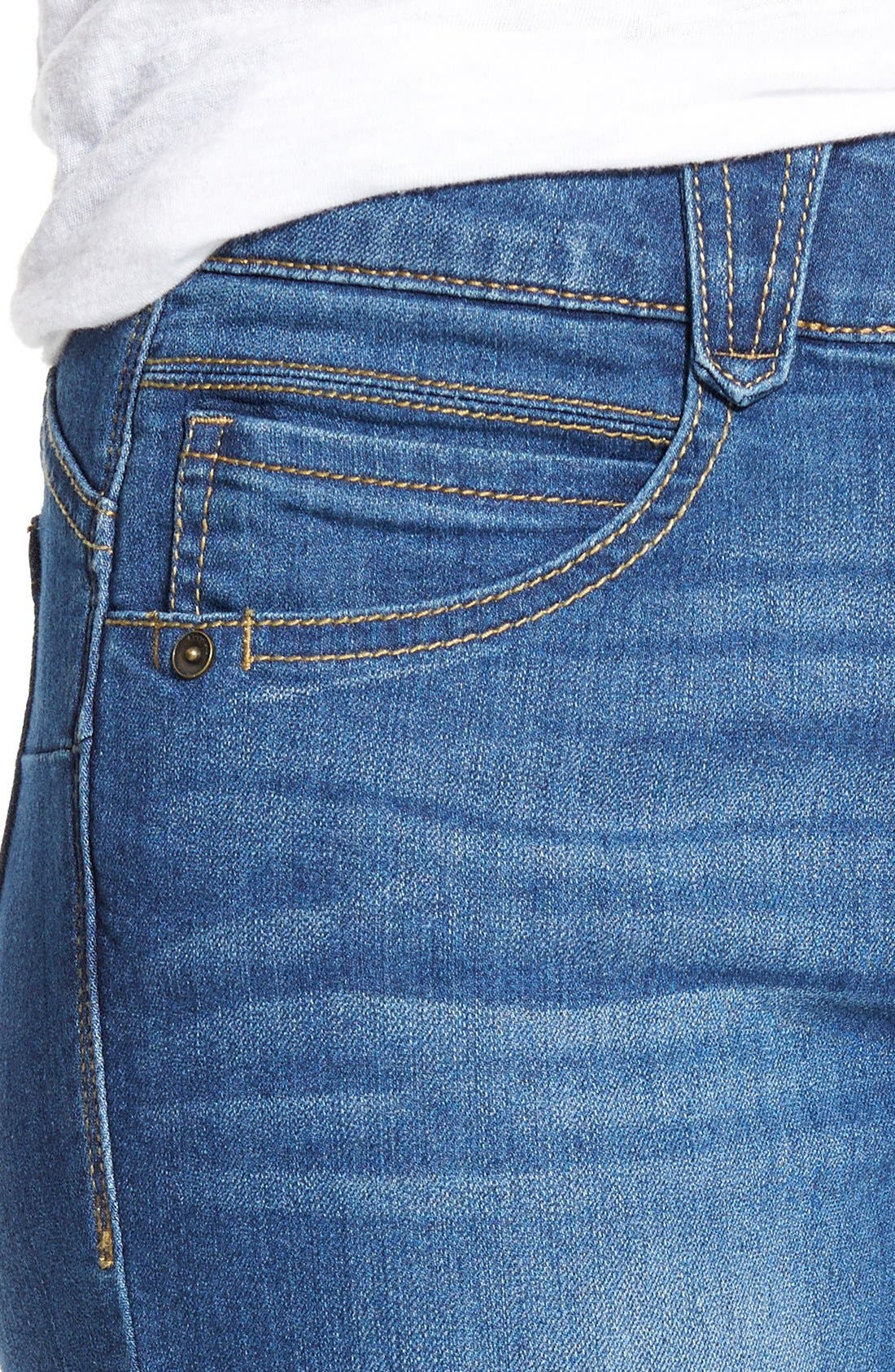 Alternate Image 4  - Wit & Wisdom 'Ab-solution' Booty Lift Stretch Skinny Jeans (Nordstrom Exclusive)