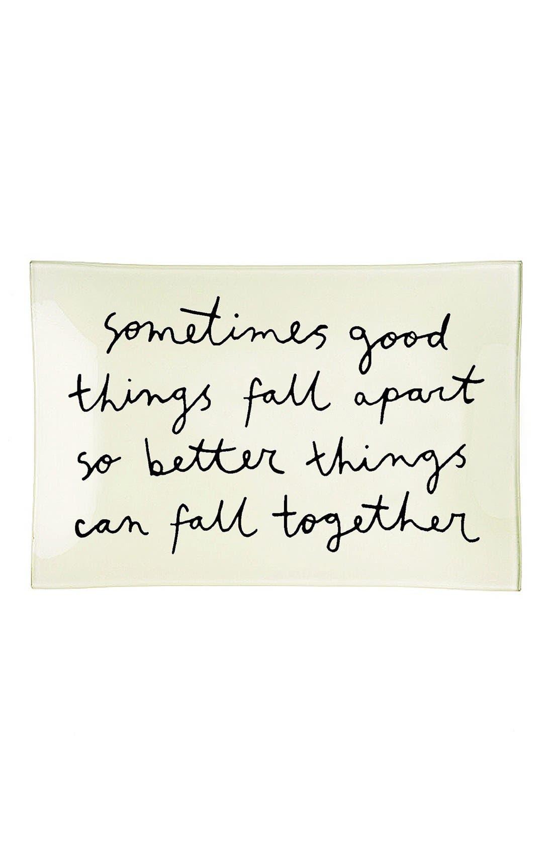 Alternate Image 1 Selected - Ben's Garden 'Sometimes Good Things Fall Apart' Trinket Tray