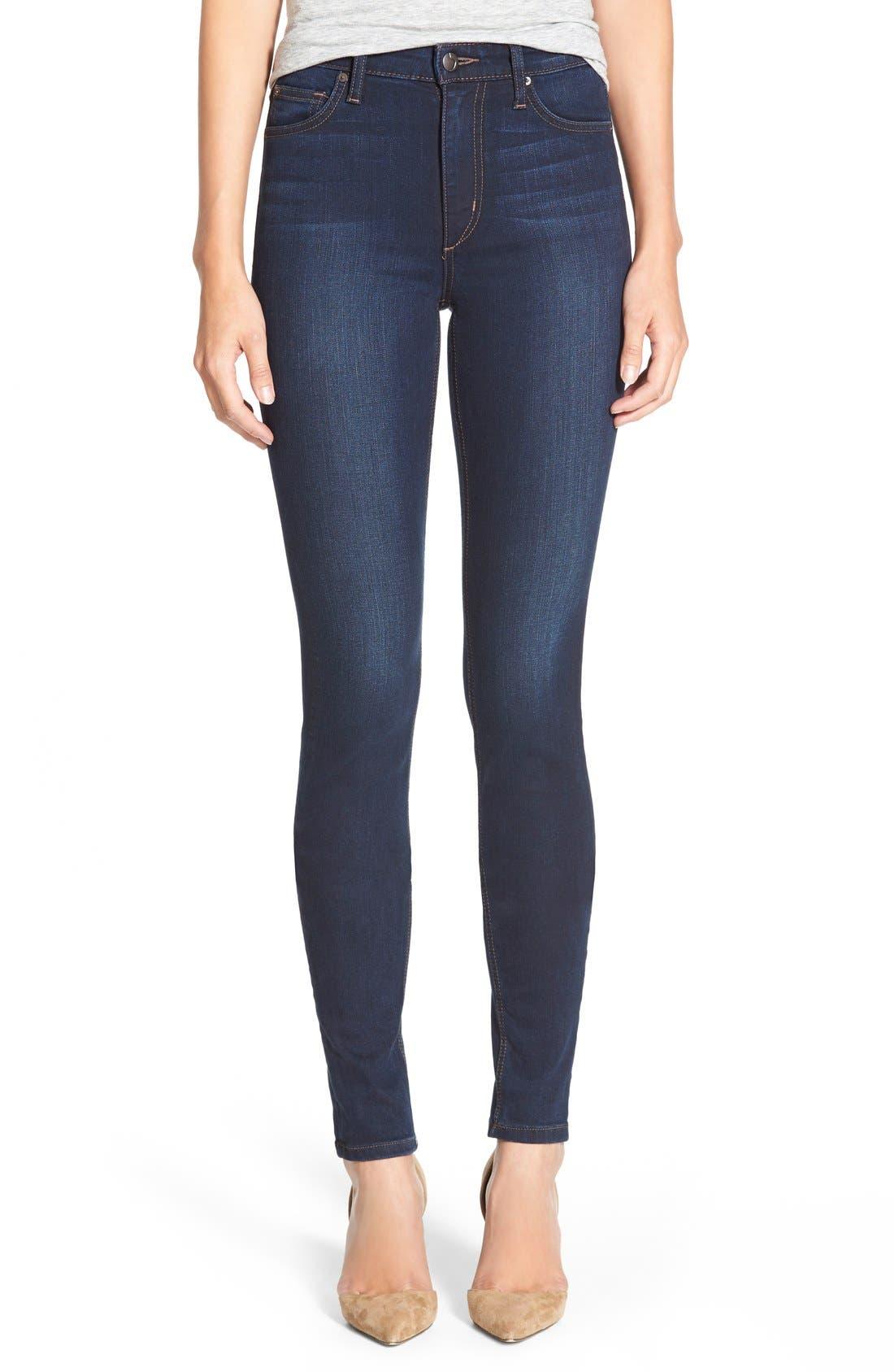 Main Image - Joe's 'Flawless -Charlie' High Rise Skinny Jeans (Cecily)