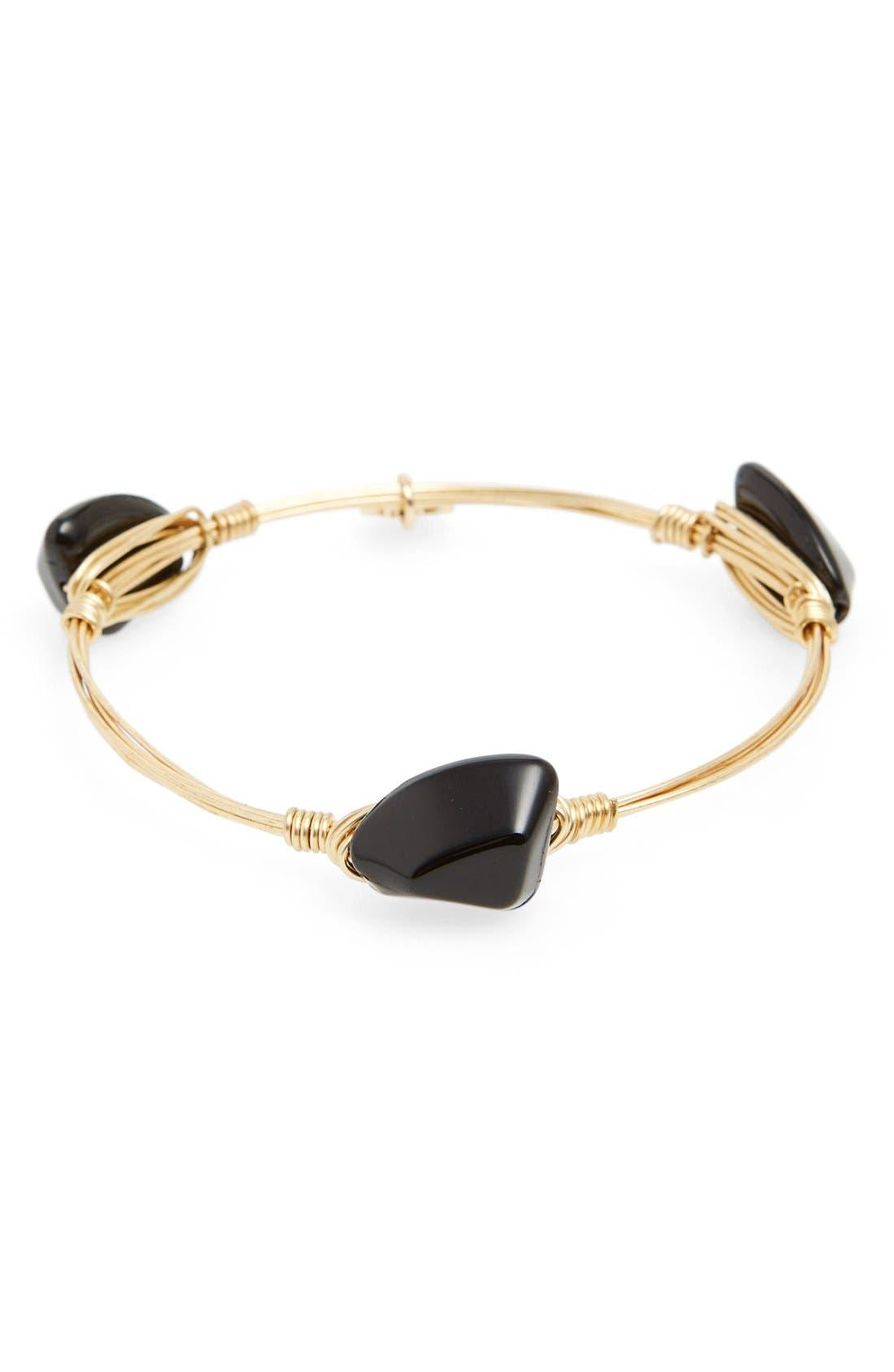 Main Image - Bourbon and BowetiesExtra Small Stone Bracelet
