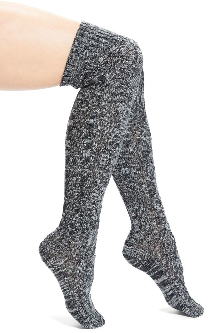 Ugg 174 Australia Classic Cable Knit Over The Knee Socks