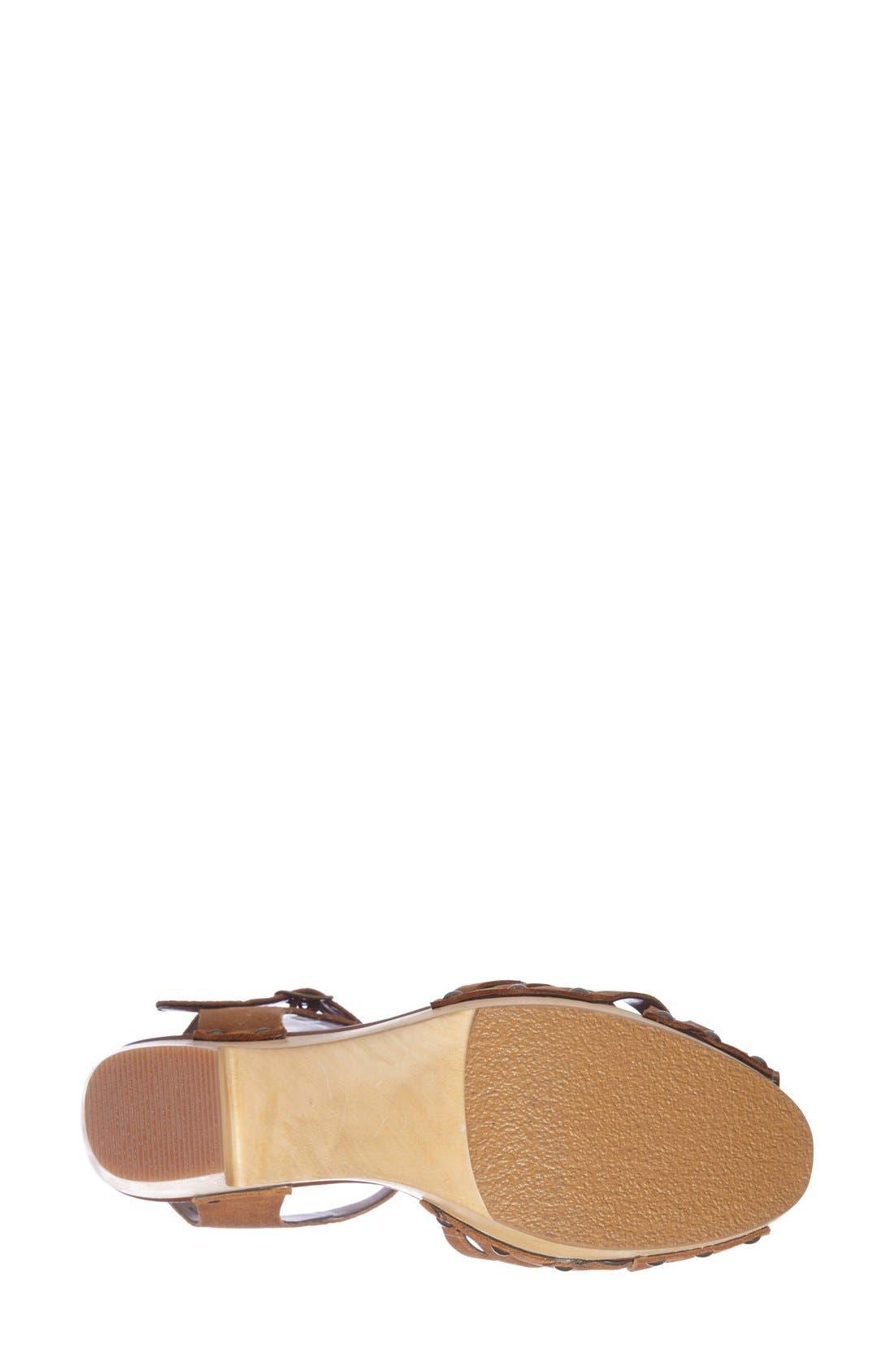 Alternate Image 4  - Halogen® 'Viv' Platform Sandal (Women)