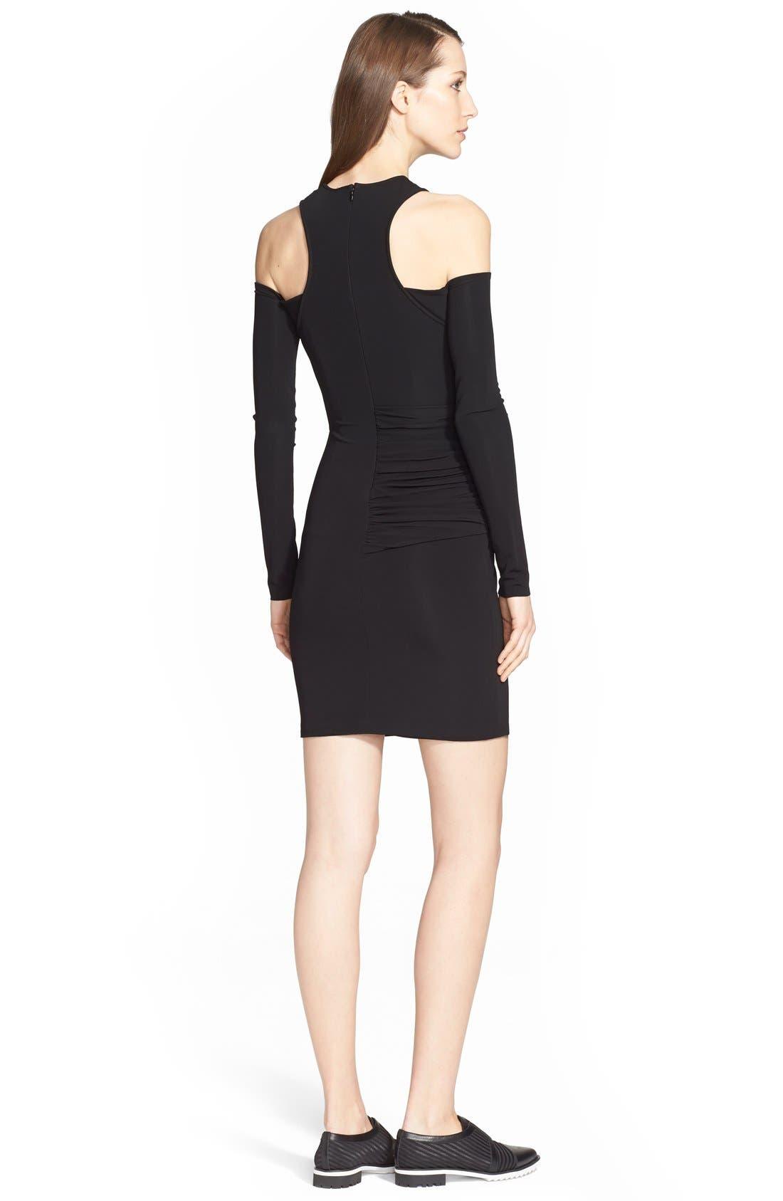 Alternate Image 2  - Yigal Azrouël Cold Shoulder Jersey Dress