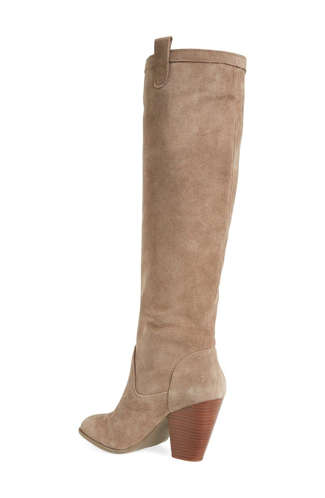 Alternate Image 2  - Sole Society 'Rumer' Slouchy Knee High Boot (Women)