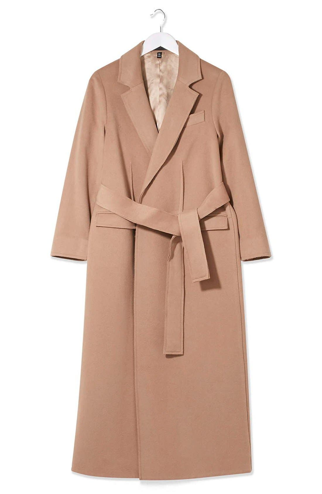 Alternate Image 3  - Topshop Boutique Wrap Coat