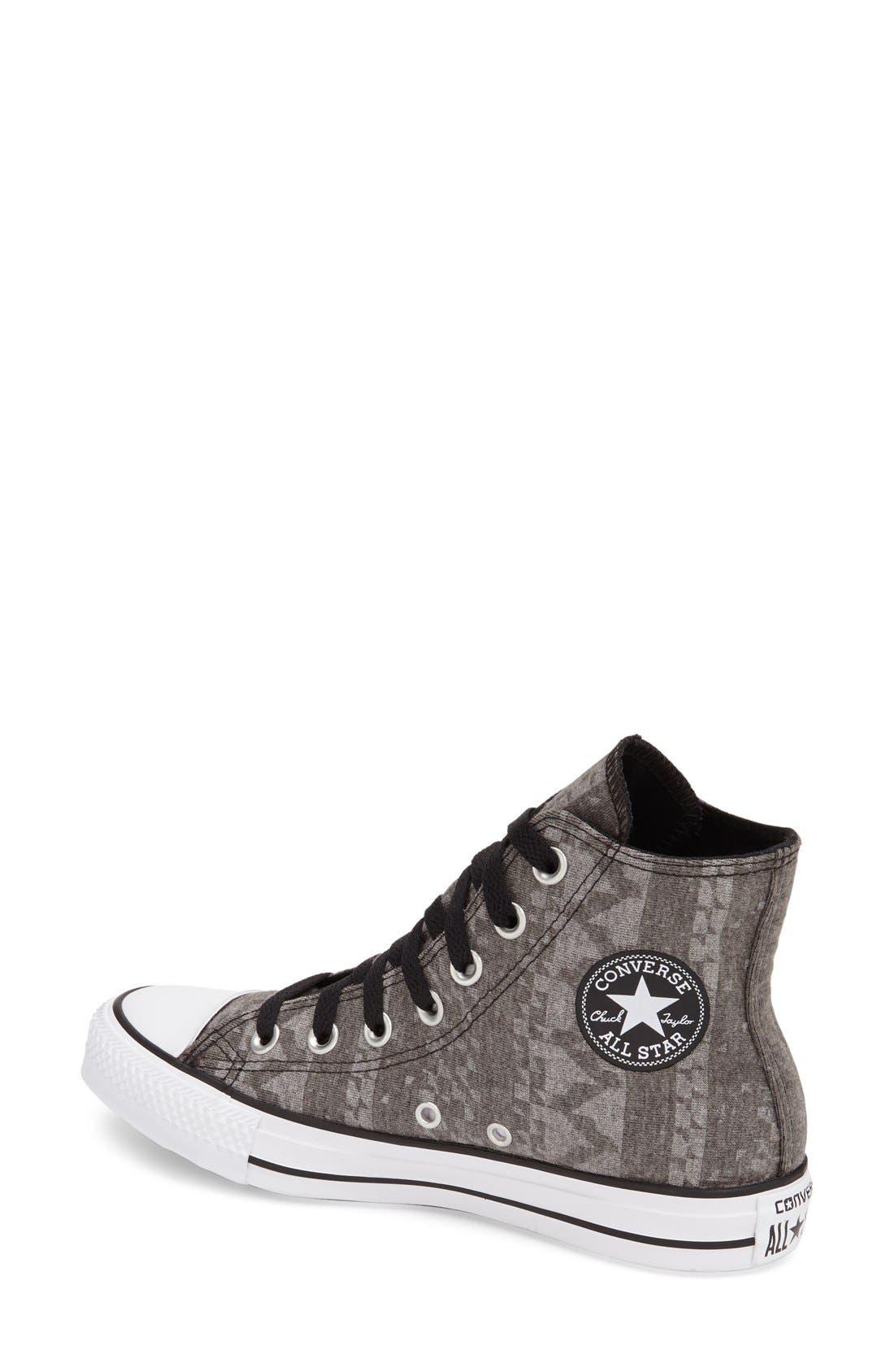 Alternate Image 2  - Converse Chuck Taylor® All Star® Geo Print High Top Sneaker (Women)
