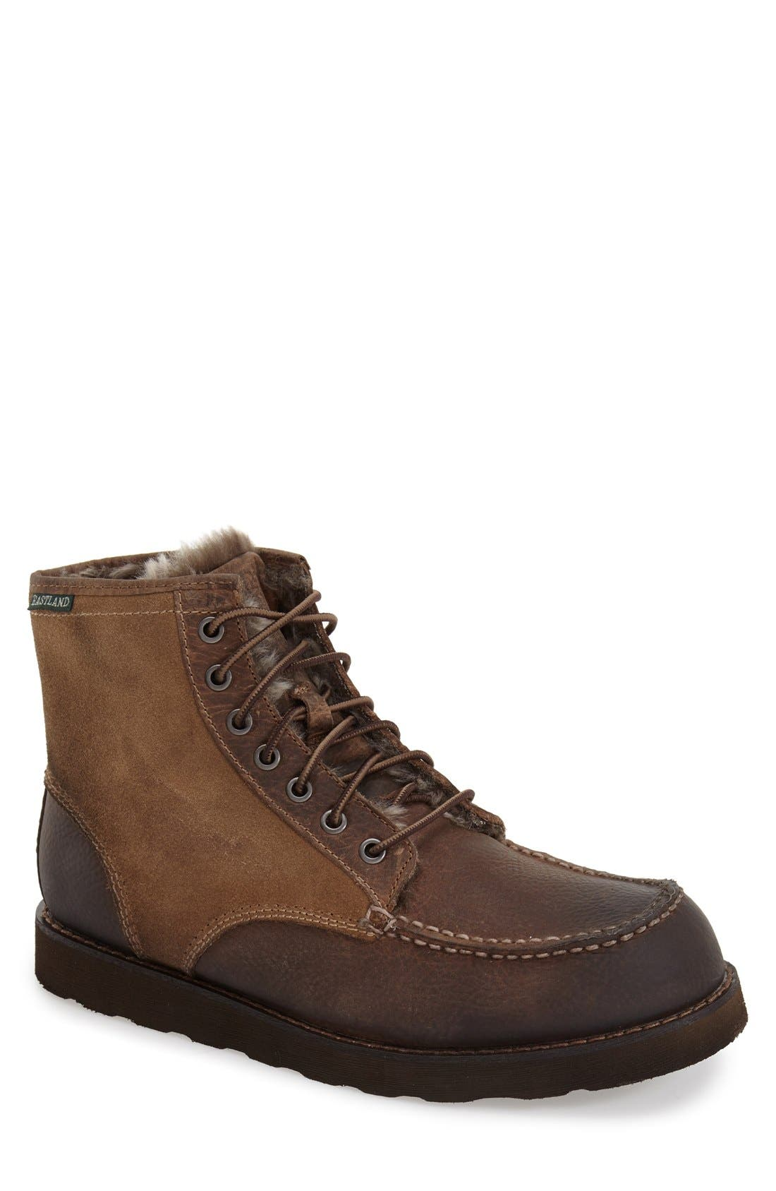 EASTLAND 'Lumber Up' Moc Toe Boot