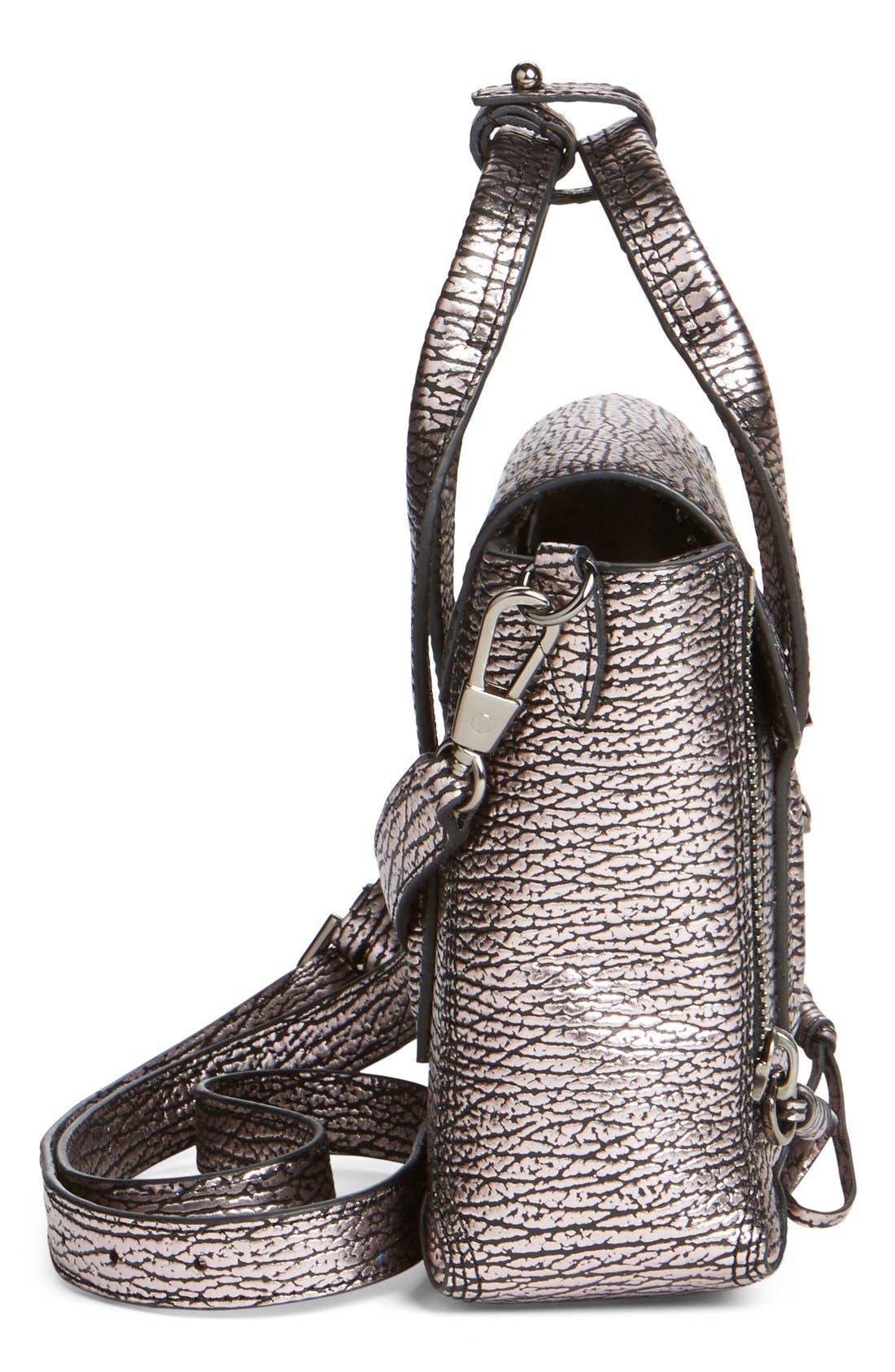 Alternate Image 4  - 3.1 Phillip Lim 'Mini Pashli' Metallic Leather Satchel