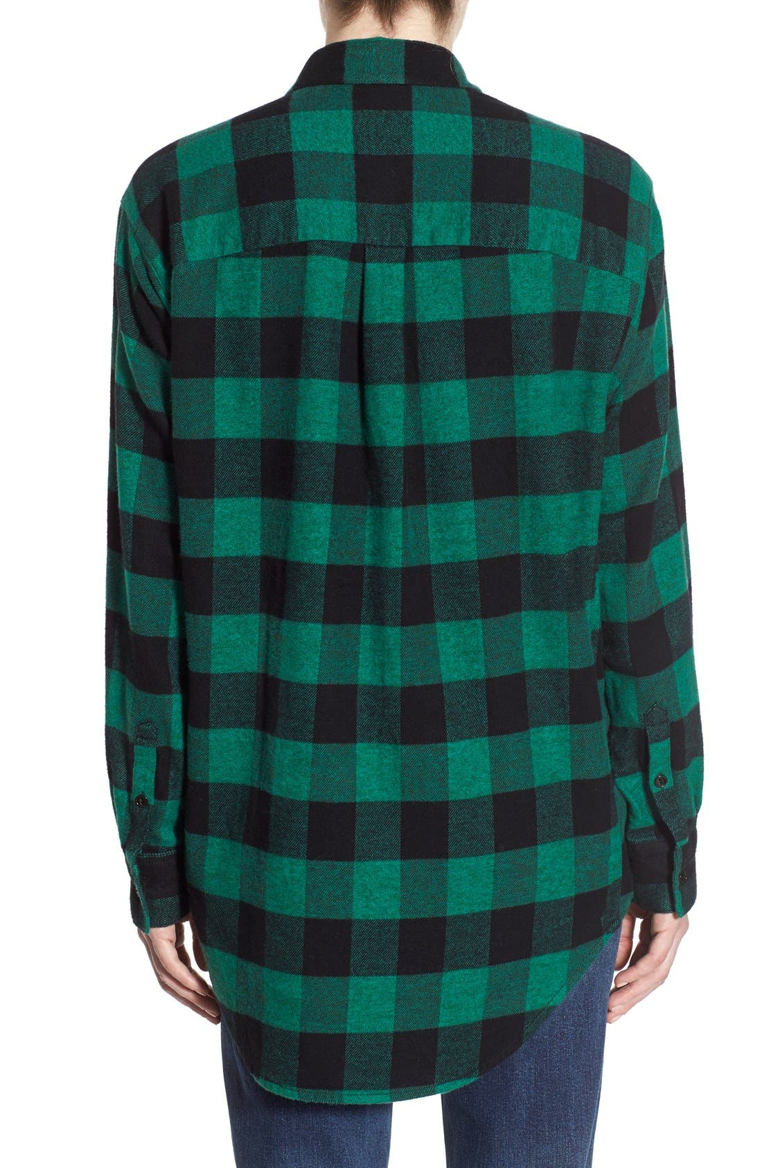 Alternate Image 3  - Madewell Oversize Buffalo Check Shirt