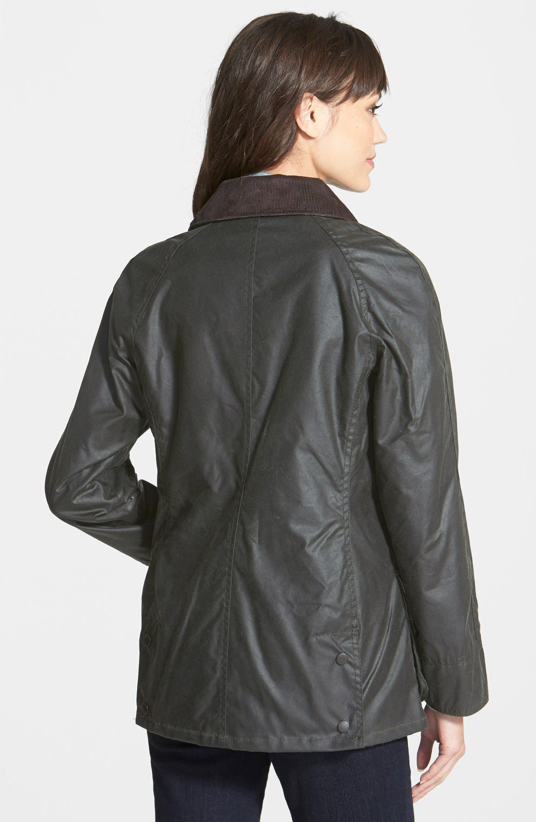 Alternate Image 3  - Barbour Beadnell Waxed Cotton Jacket