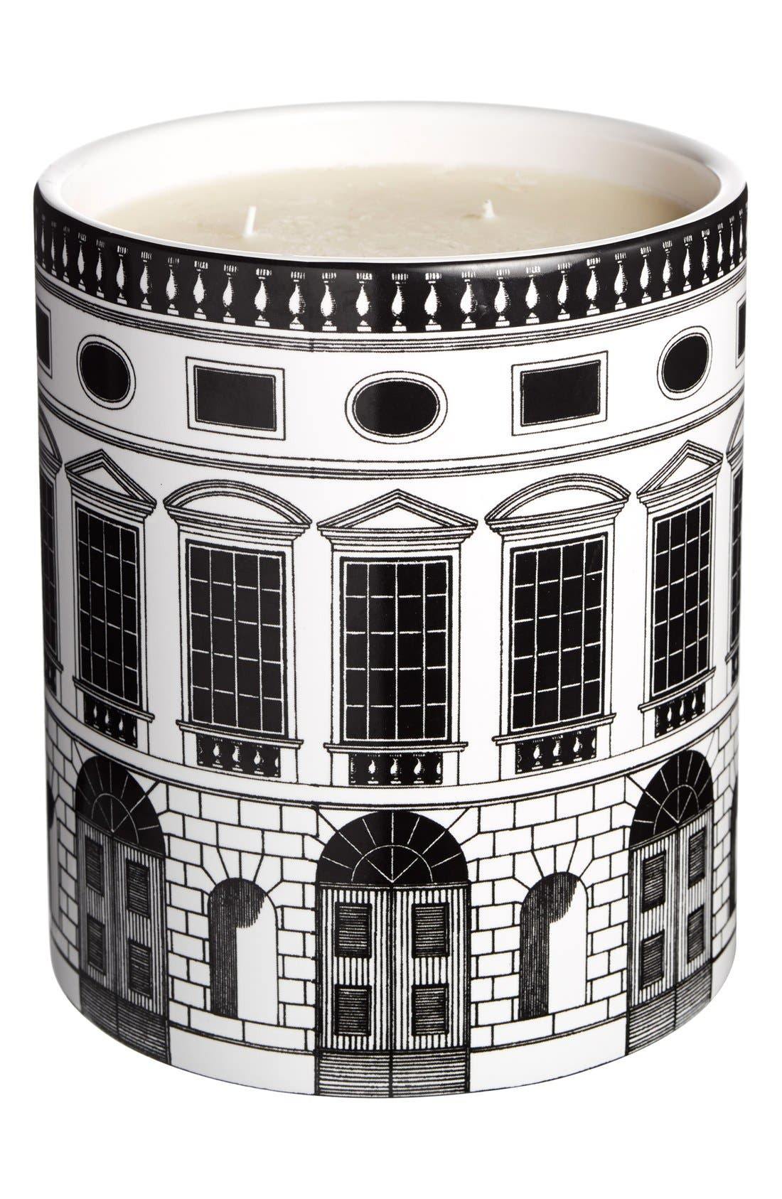 FORNASETTI 'Architettura - Otto' Large Candle