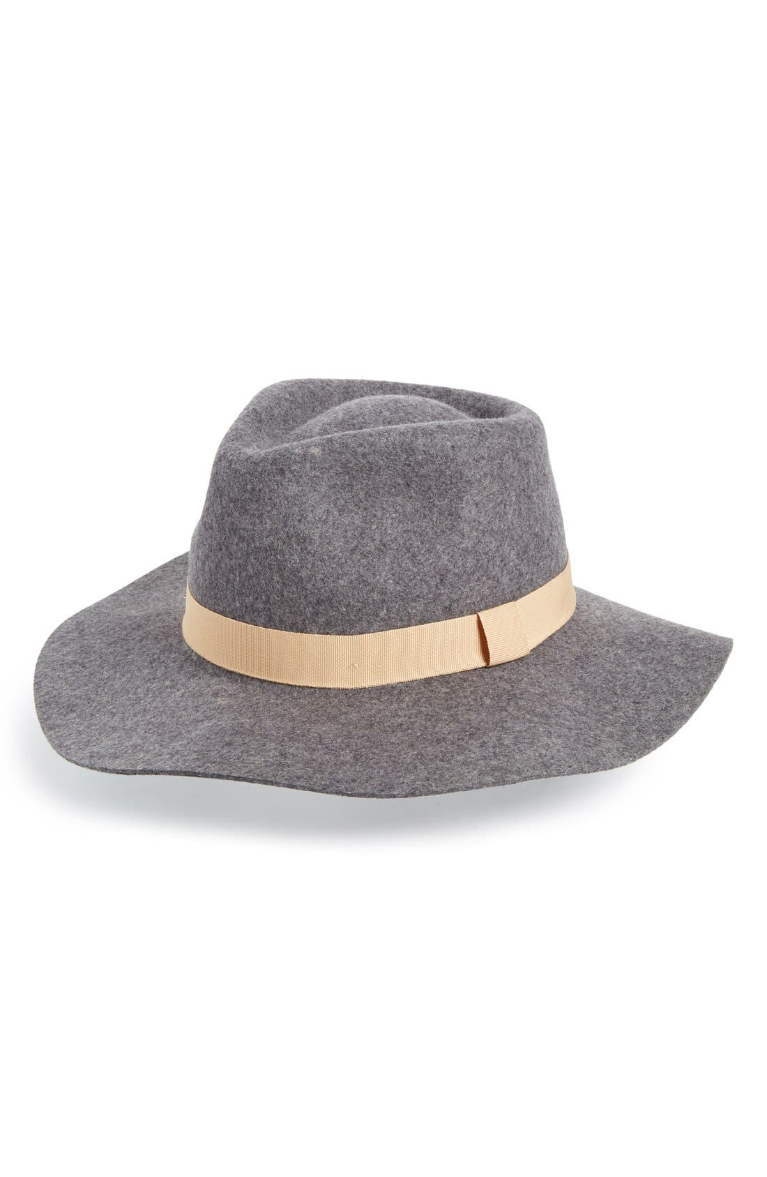 Main Image - Sole Society Wide Brim Fedora