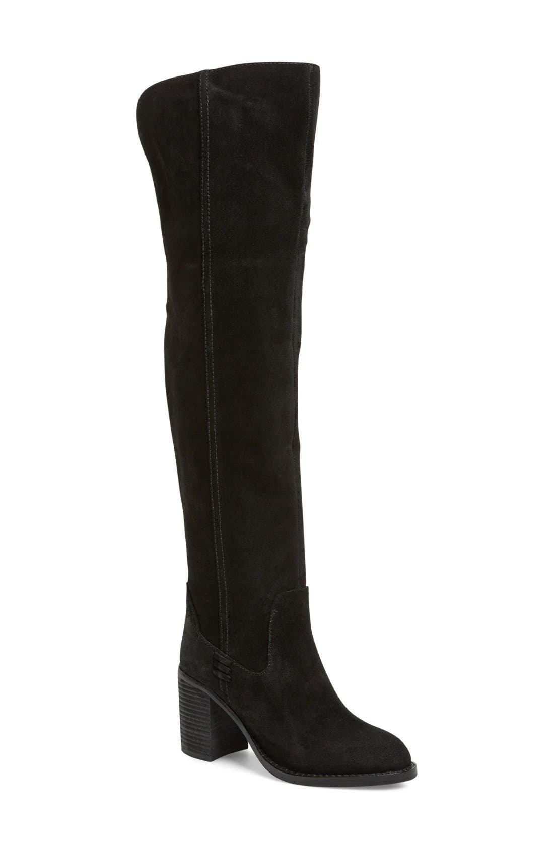 Alternate Image 1 Selected - Jeffrey Campbell 'Raylan' Over the Knee Boot (Women)