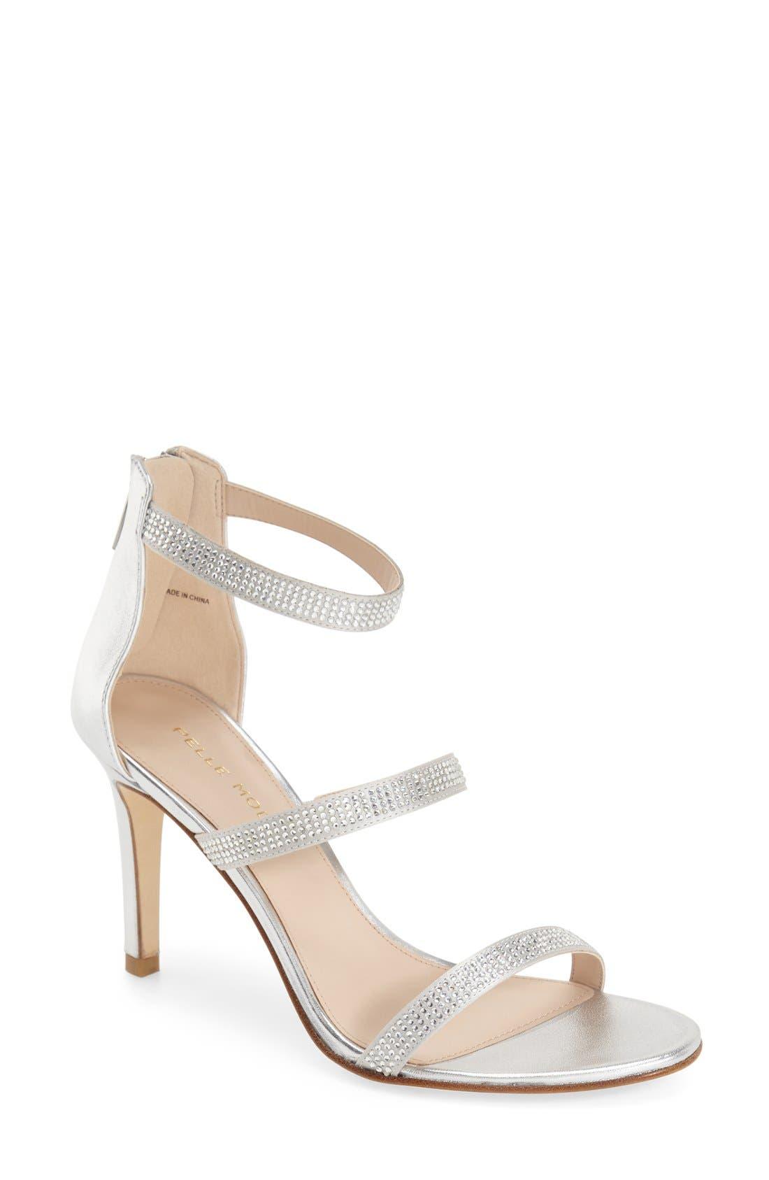 PELLE MODA 'Dalia' Three Strap Sandal