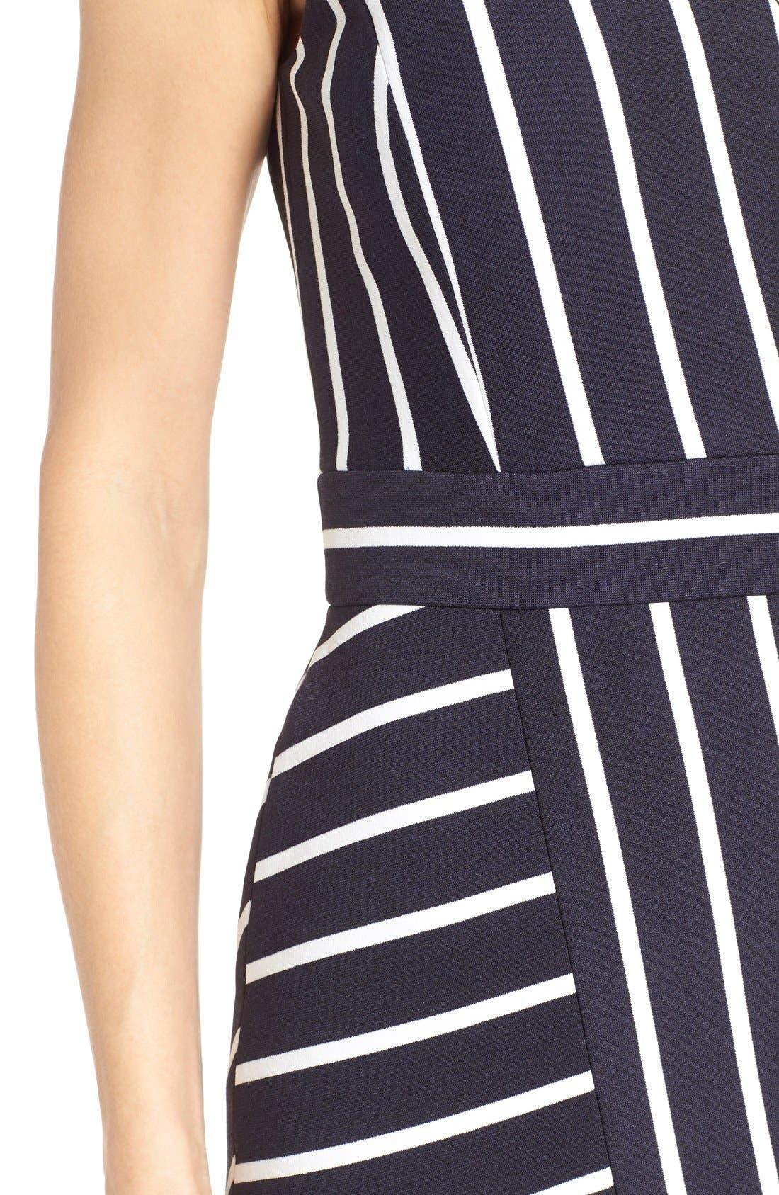 Alternate Image 4  - Classiques Entier® 'Orizzonte' Ponte Knit Faux Wrap Dress
