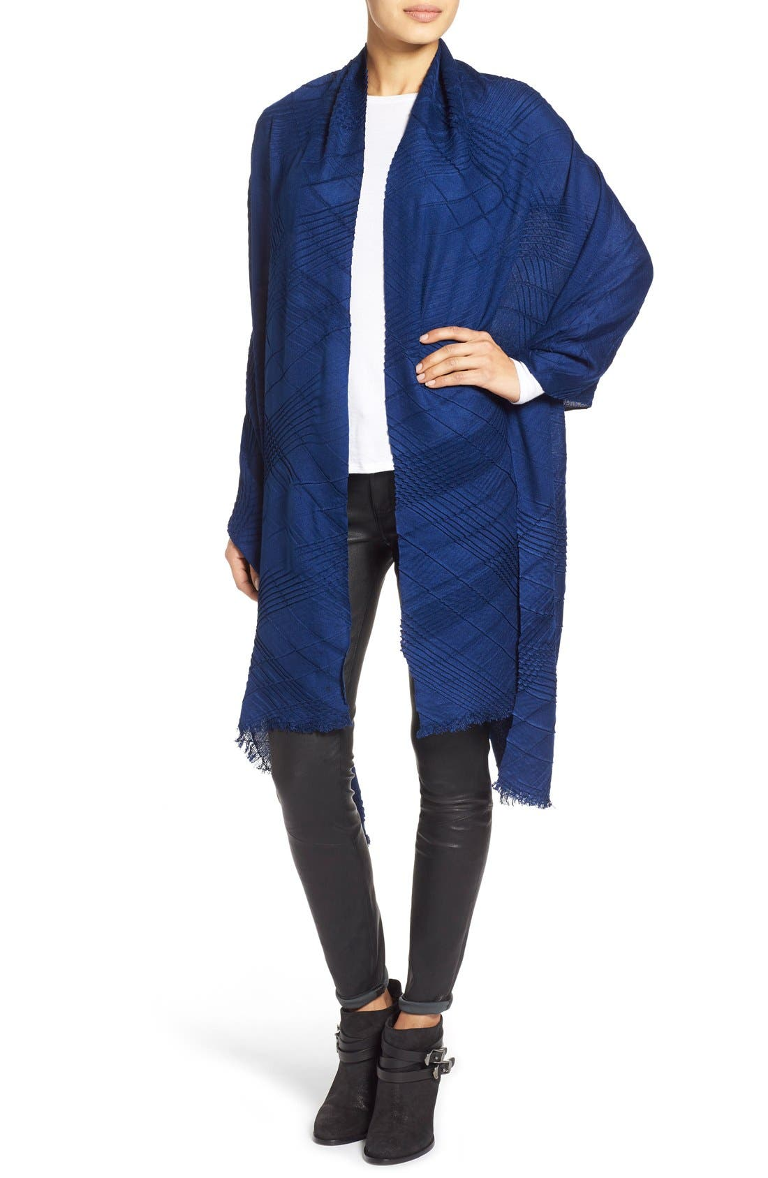 Alternate Image 2  - Echo Pleated Blanket Scarf