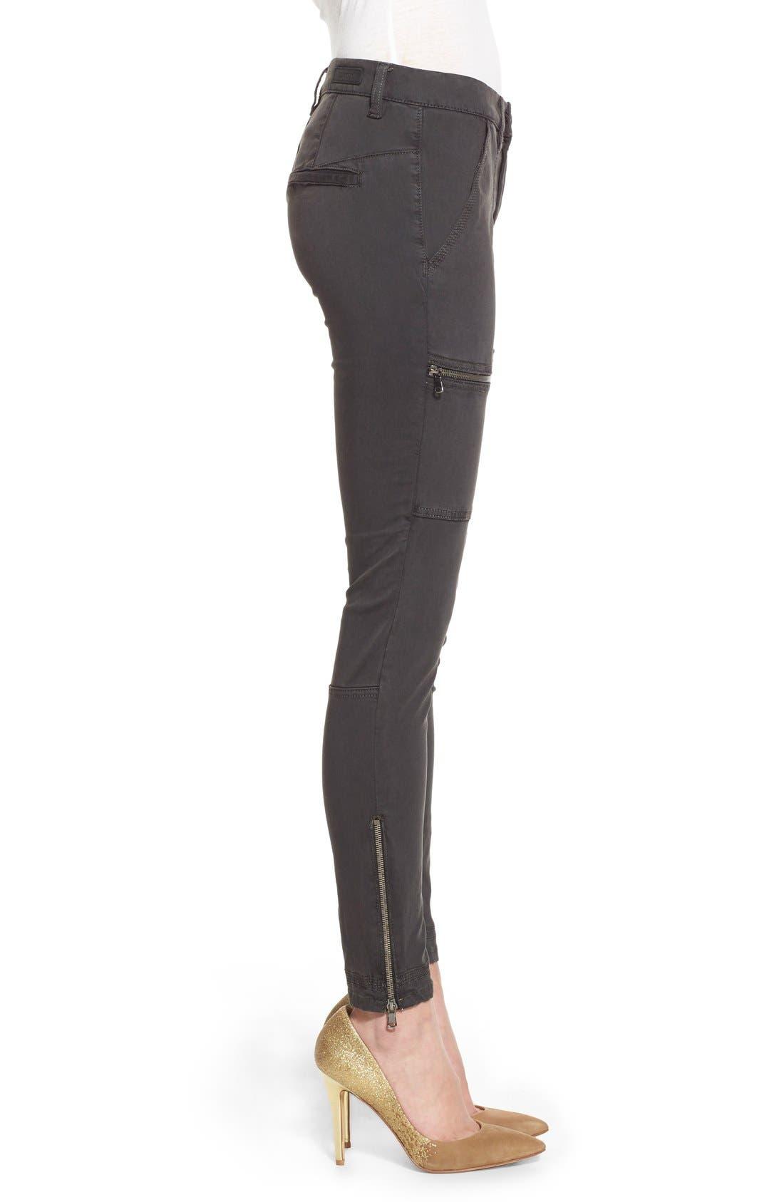 Alternate Image 3  - BLANKNYC 'No New Friends' Skinny Utility Pants