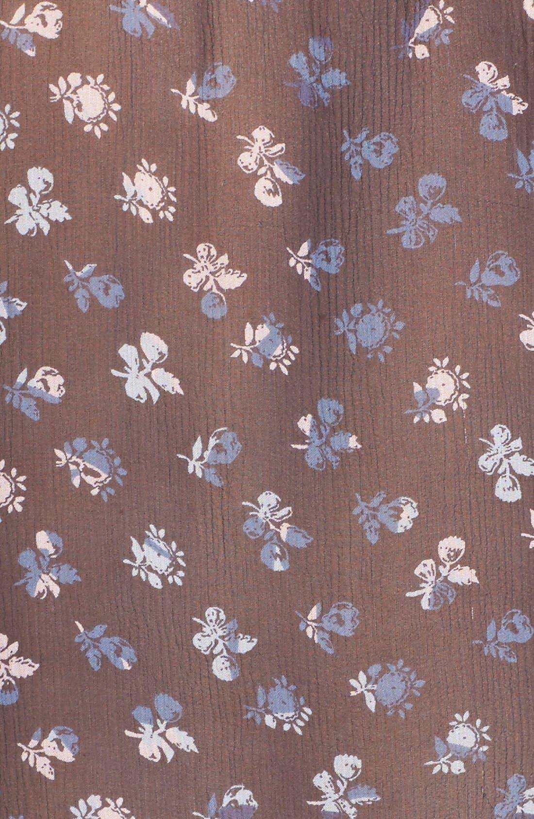 Alternate Image 5  - Diane von Furstenberg 'Mariah' Floral Print Silk Blouse