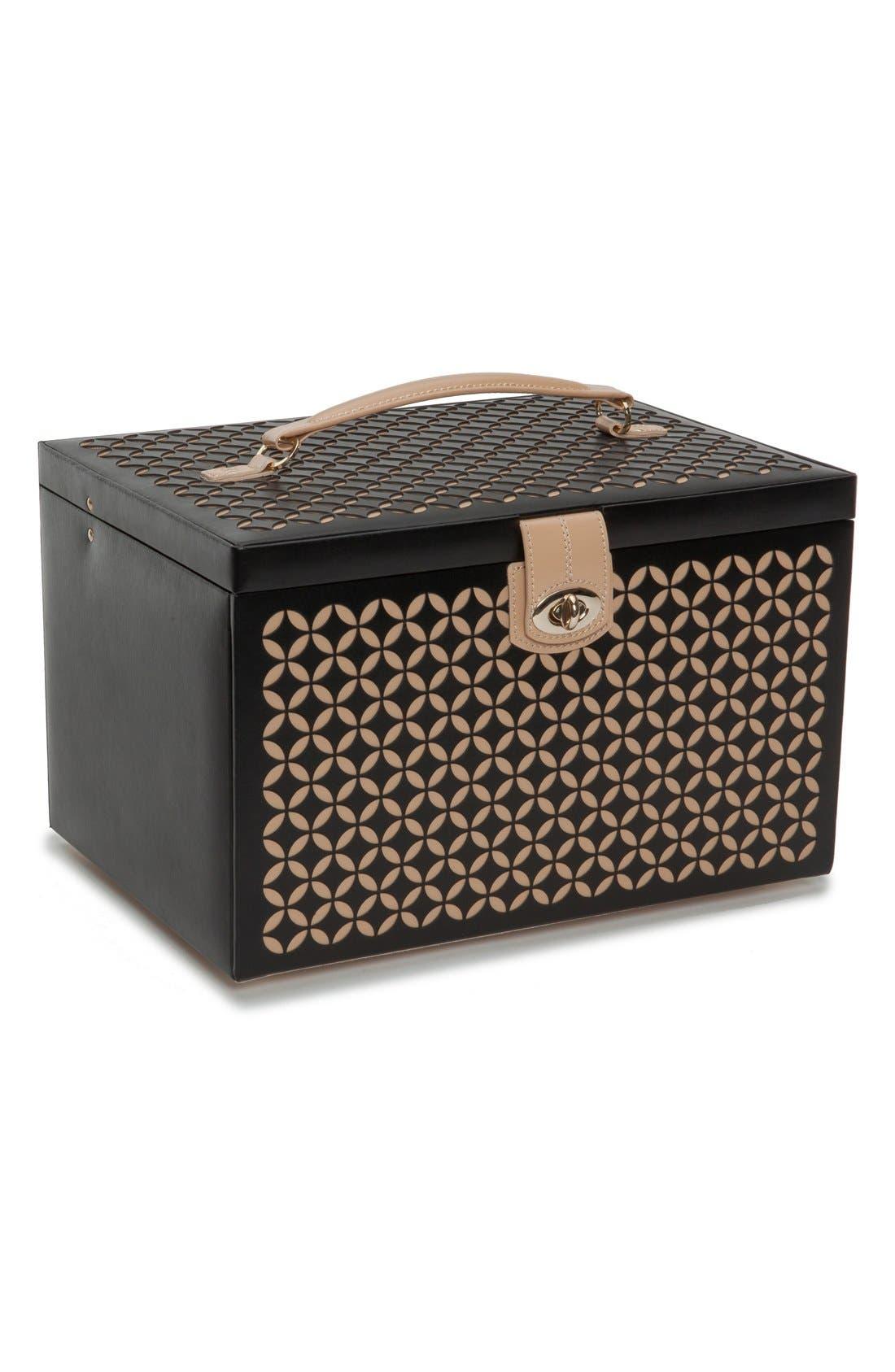 Wolf 'Chloe' Jewelry Box