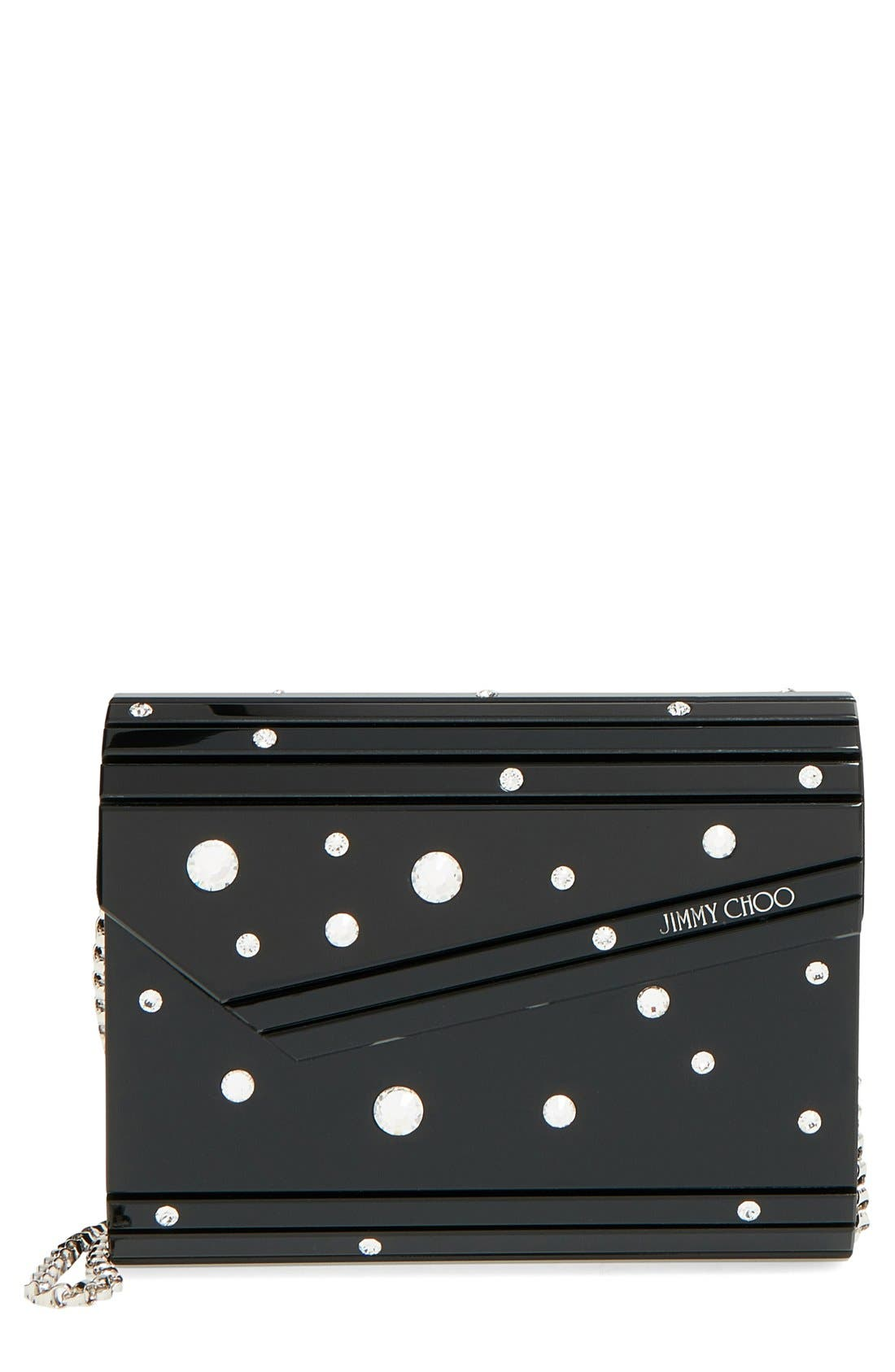Alternate Image 1 Selected - Jimmy Choo 'Candy - Crystal' Clutch