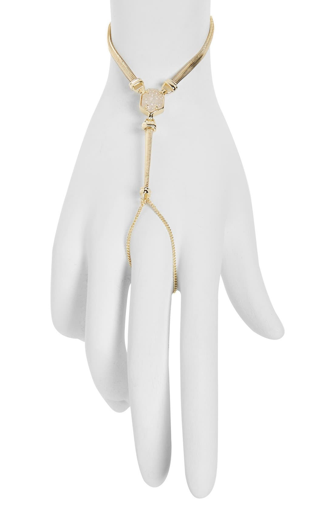 Alternate Image 1 Selected - Kendra Scott 'Carlin' Hand Chain