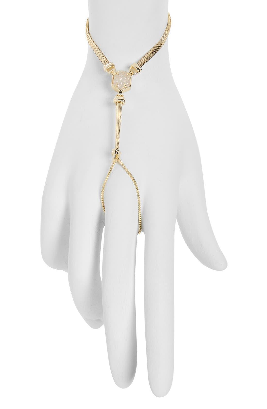 Main Image - Kendra Scott 'Carlin' Hand Chain