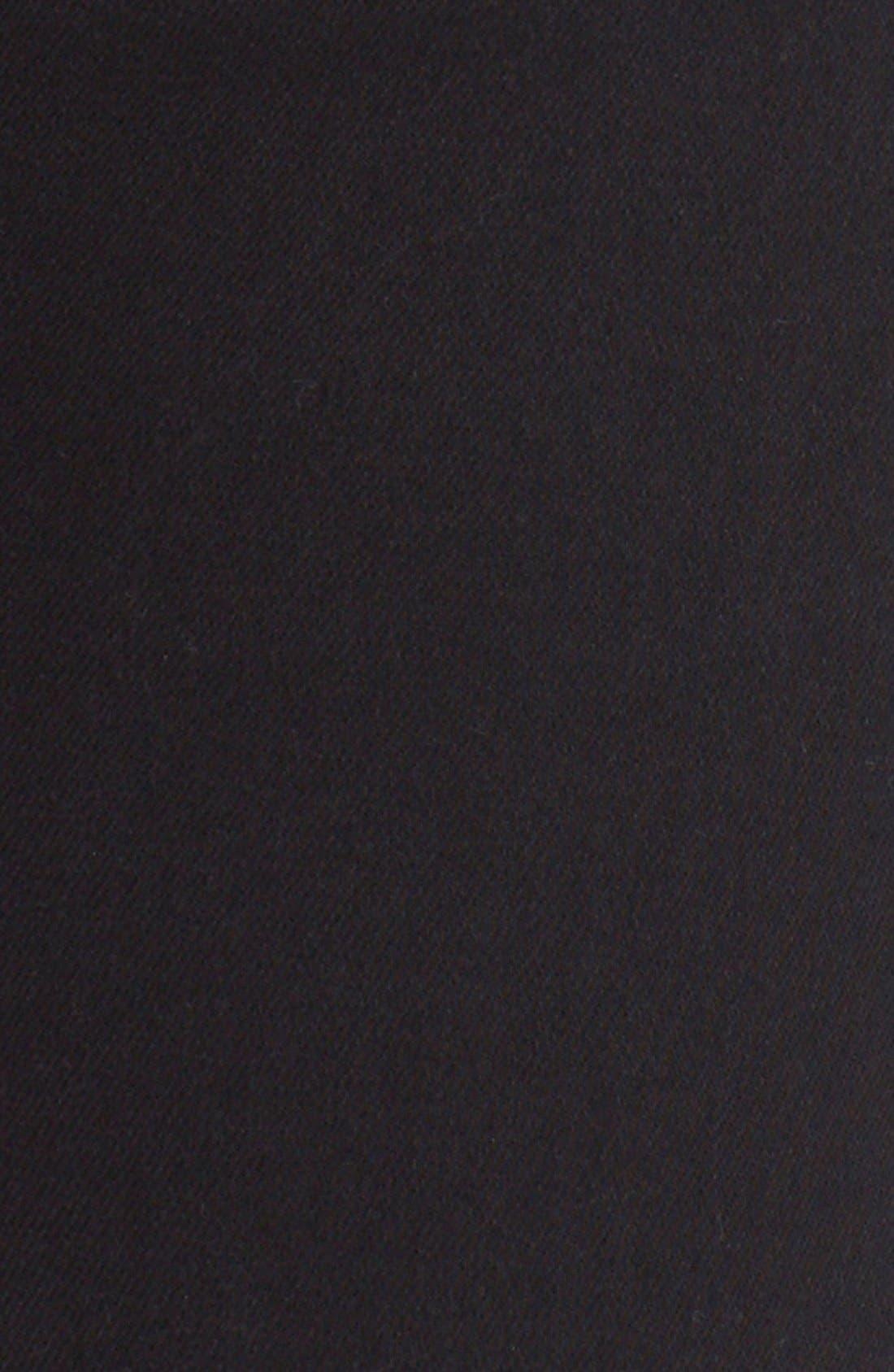 Alternate Image 5  - Ted Baker London 'Platt' Abrasion Skinny Jeans (Black)