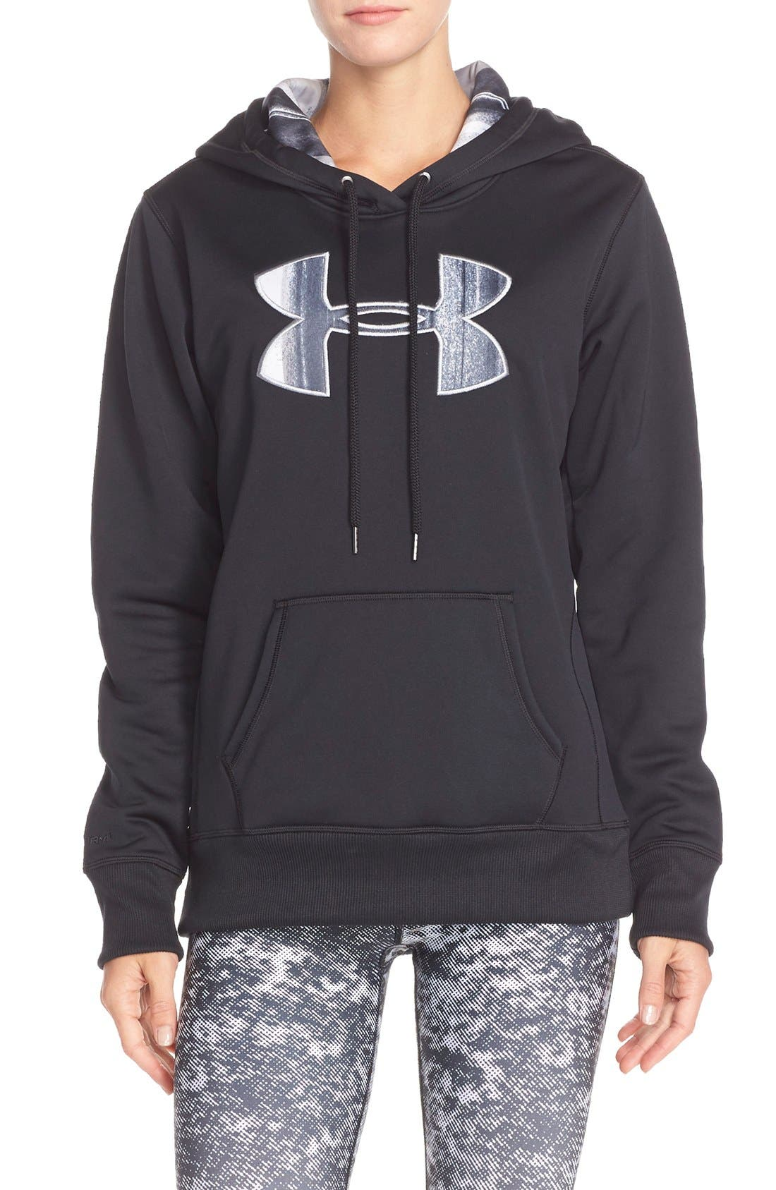 Alternate Image 1 Selected - Under Armour Logo Hoodie