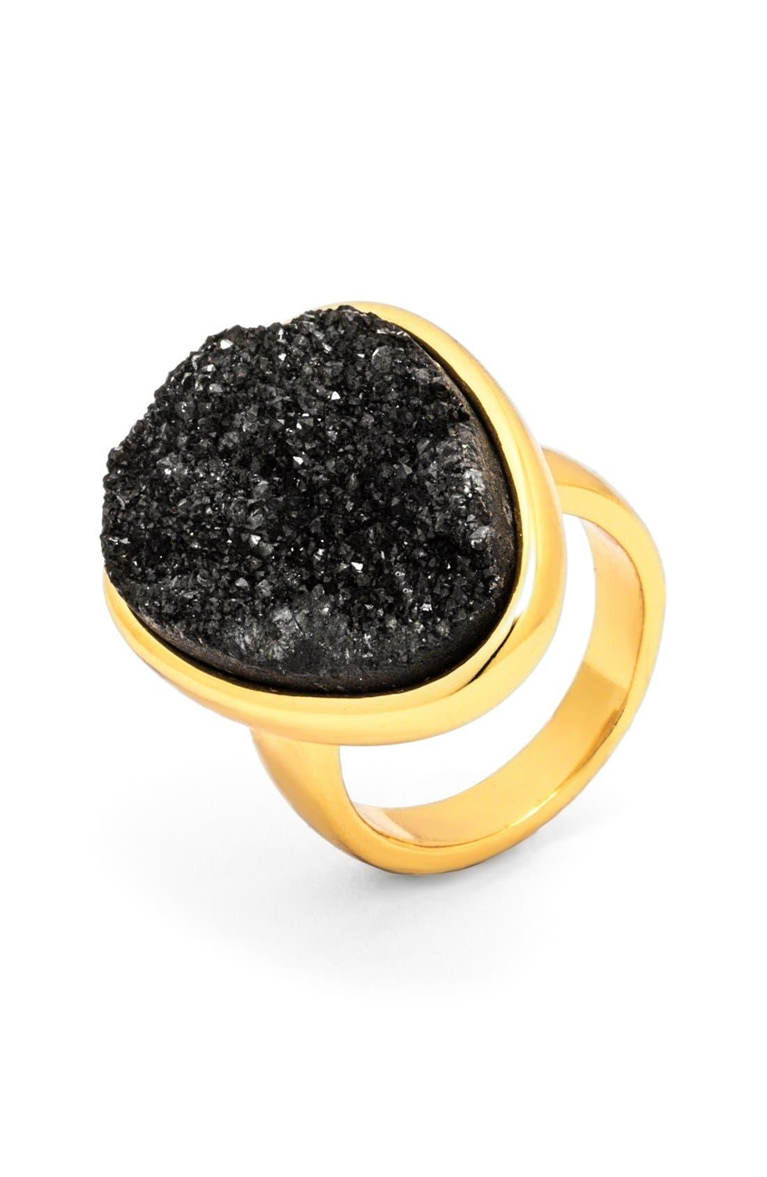 Main Image - BaubleBar Drusy Cocktail Ring