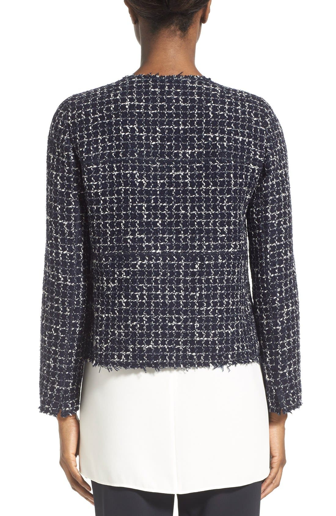 Alternate Image 3  - Lafayette 148 New York 'Dani - Tempered Tweed' Jacket (Regular & Petite)