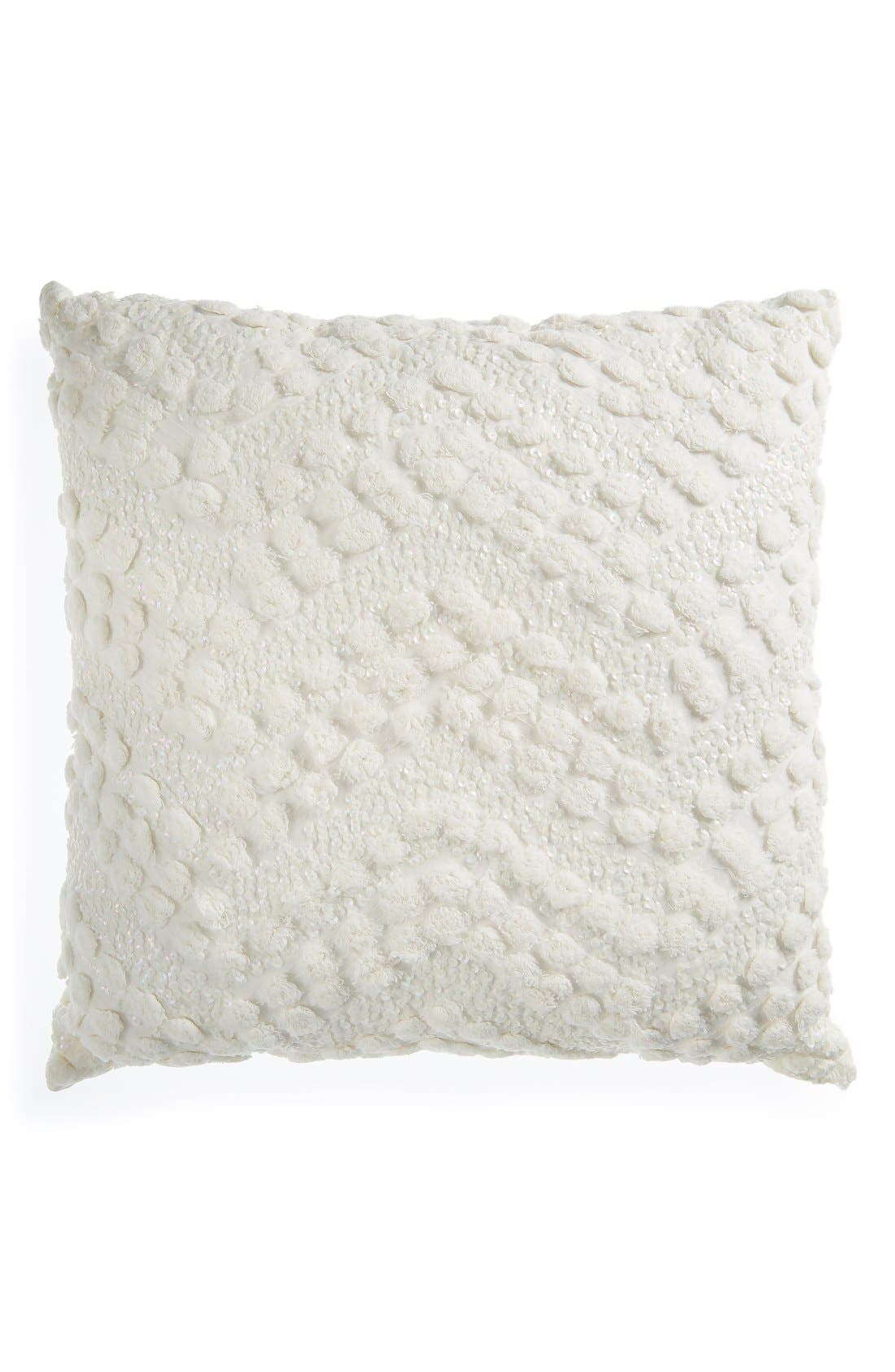 Alternate Image 1 Selected - Nordstrom at Home'Chevron Sparkle' Accent Pillow