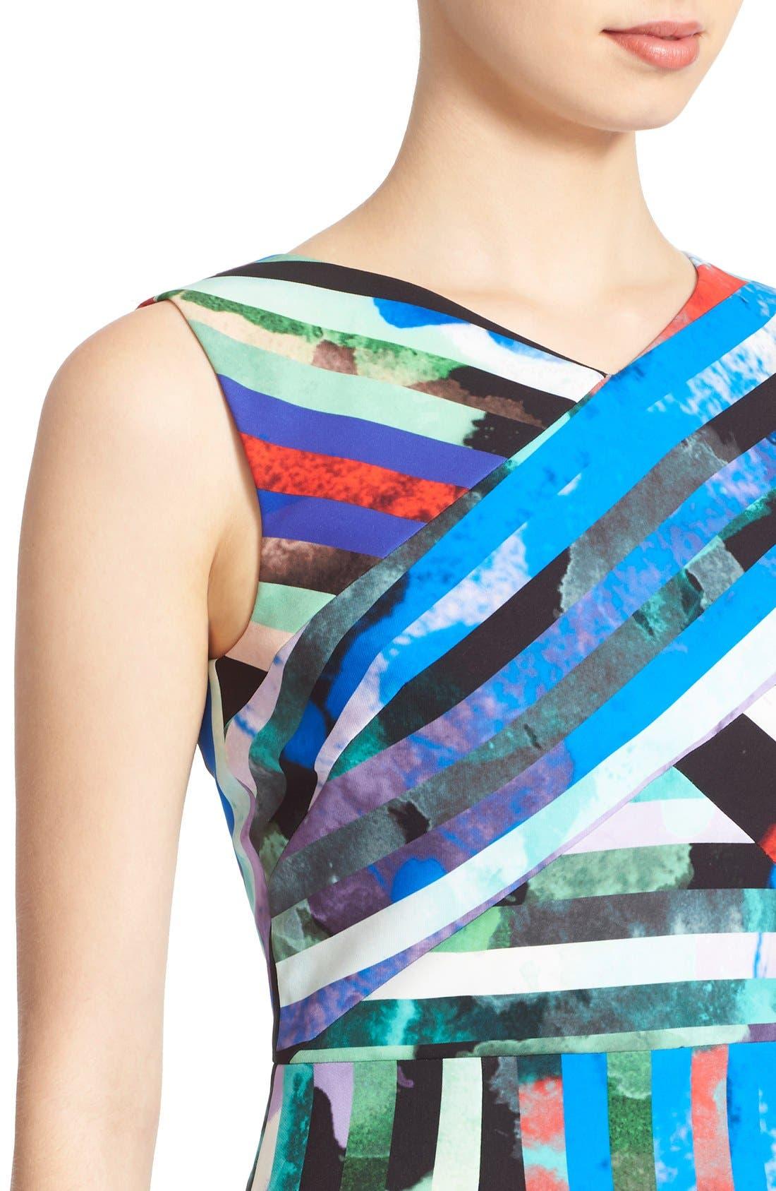 Alternate Image 4  - Milly 'Allison' Stripe Minidress