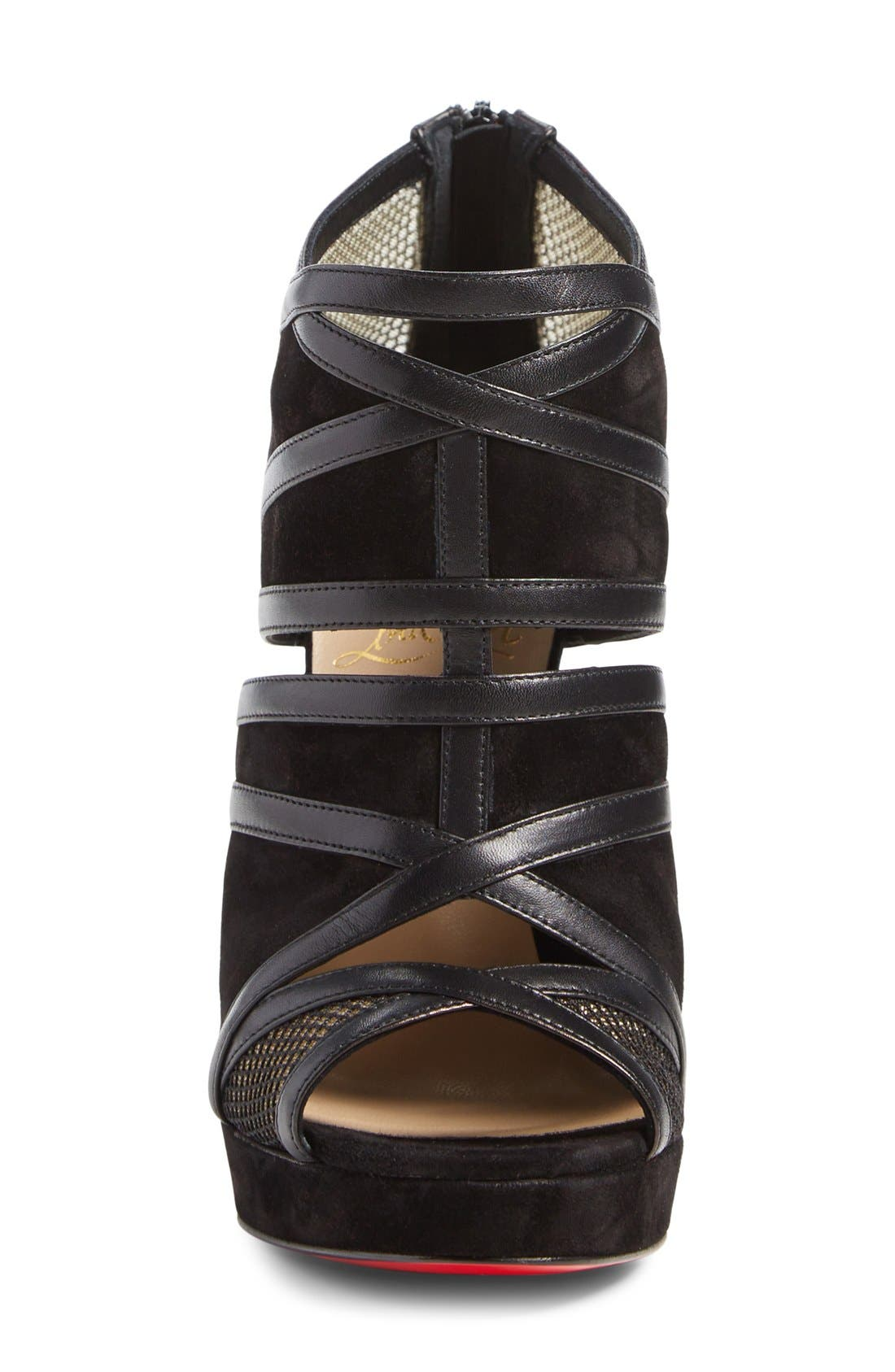 Alternate Image 3  - Christian Louboutin 'Cammandanta' Open Toe Platform Sandal