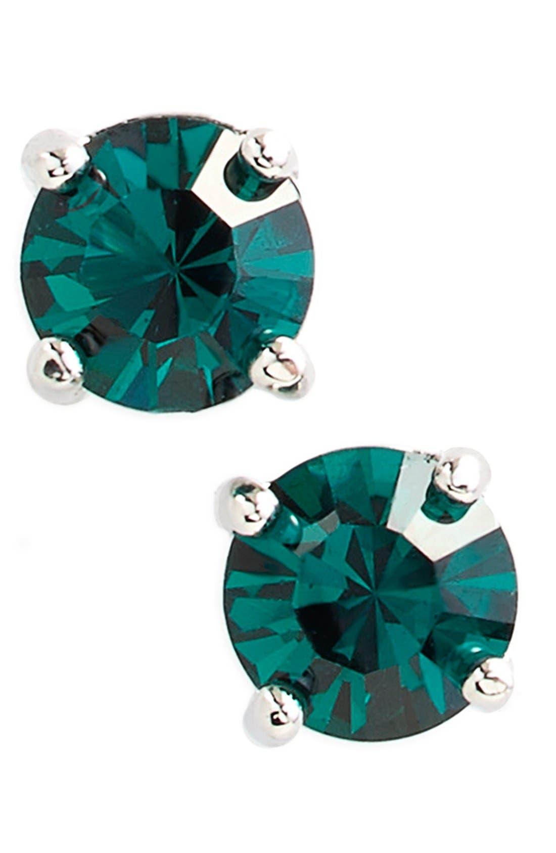 Alternate Image 1 Selected - Kent & King Crystal Stud Earrings