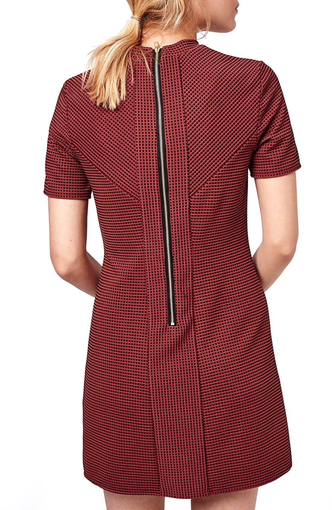 Alternate Image 3  - Topshop Paneled A-Line Dress (Petite)