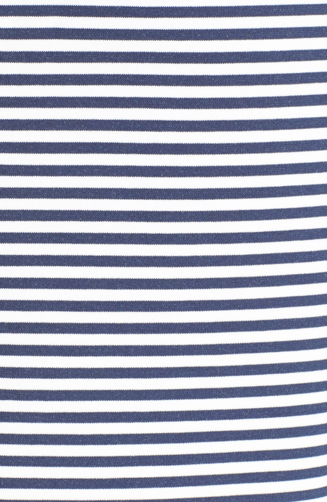 Alternate Image 5  - Theory 'Mivrill' Stripe Sheath Dress