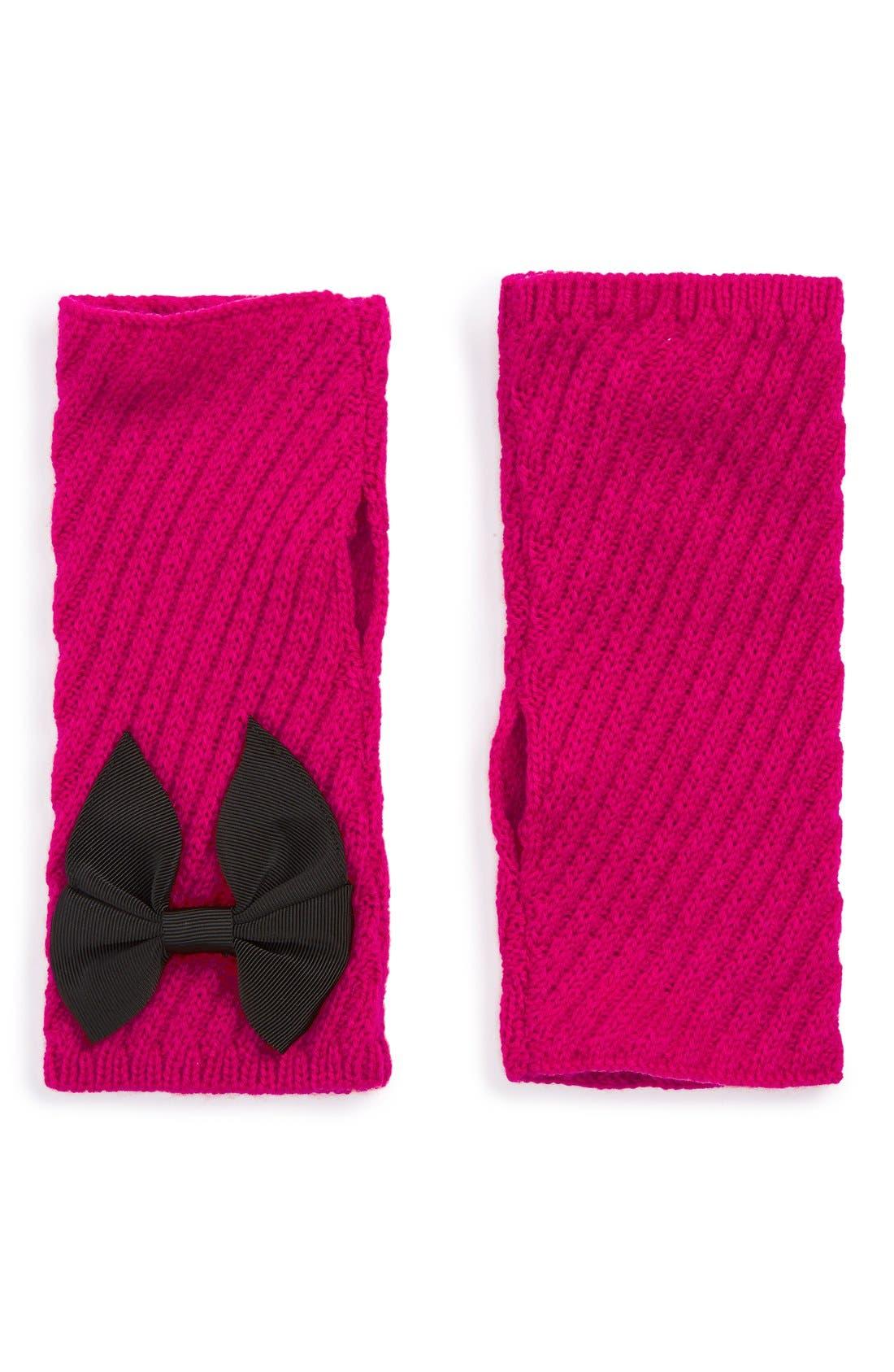 Alternate Image 1 Selected - kate spade new york rib knit arm warmers