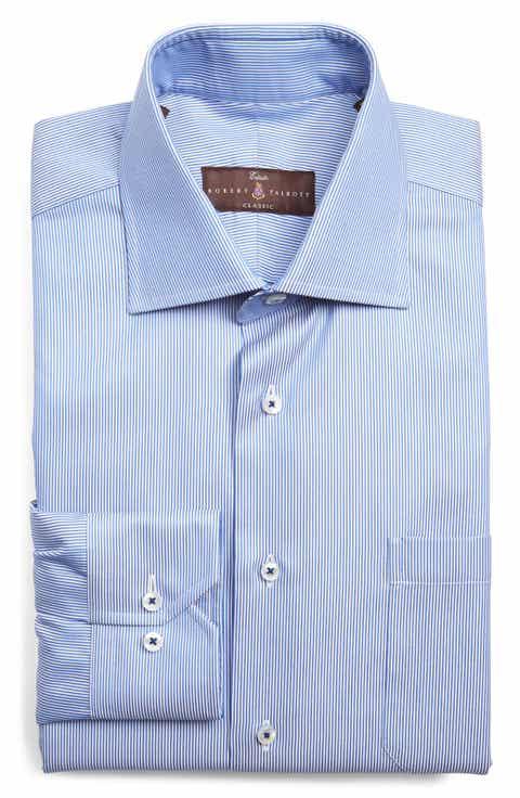 Robert talbott big and tall dress shirts nordstrom for Robert talbott shirts sale