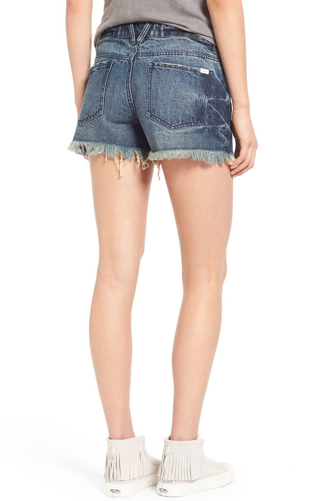 Alternate Image 2  - Volcom 'Stoneshort 3' Denim Shorts