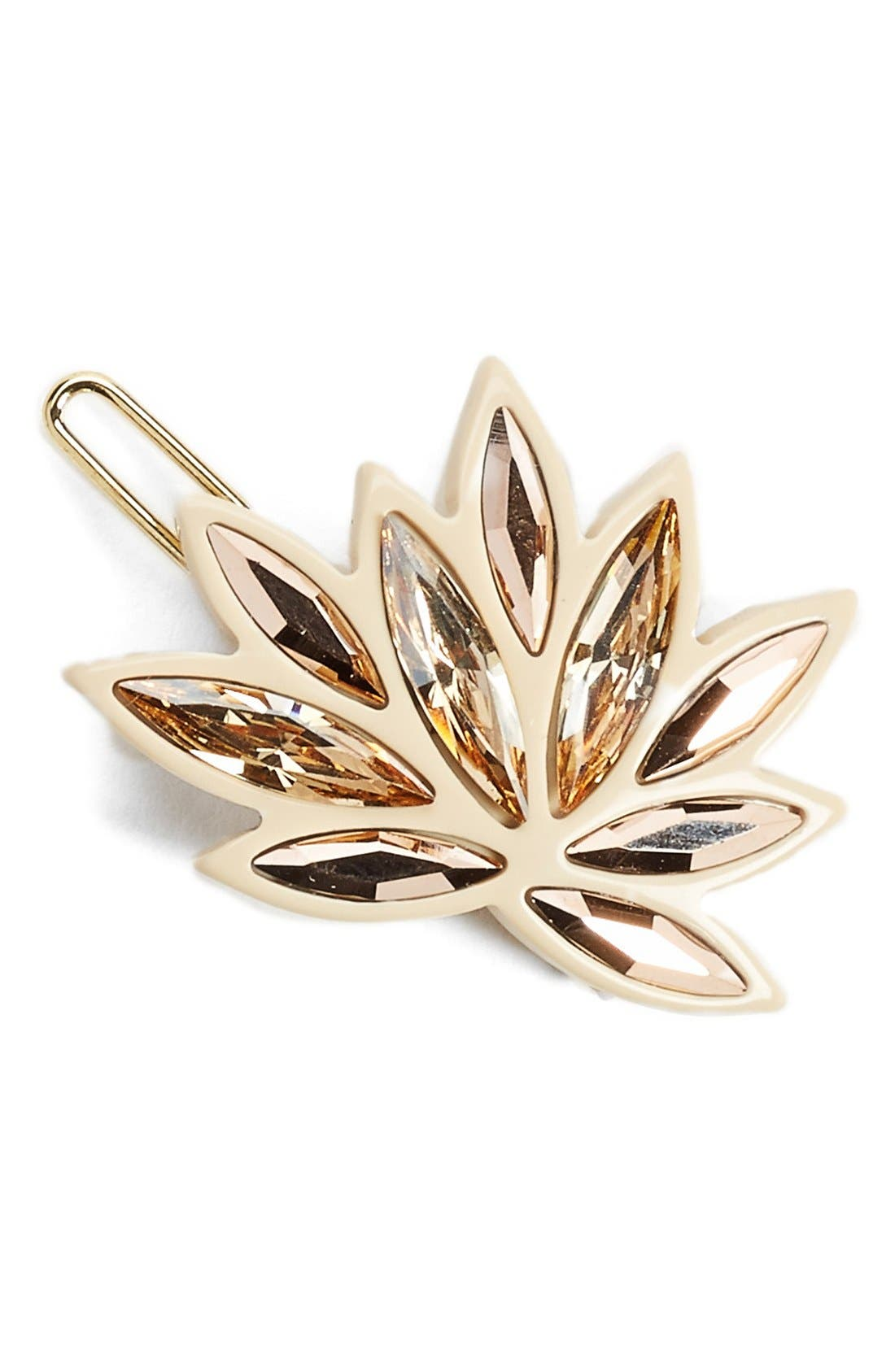 Alexandre de Paris 'Eclat' Small Crystal Barrette