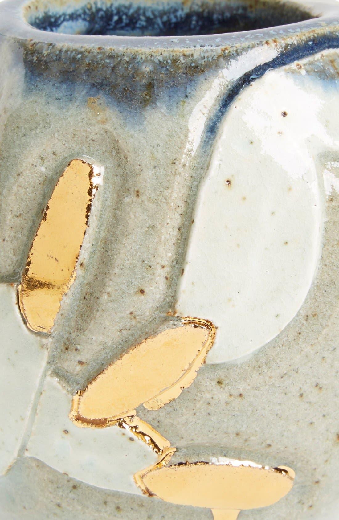 Alternate Image 2  - BZIPPY & CO. 'Nails' Handmade Ceramic Vase