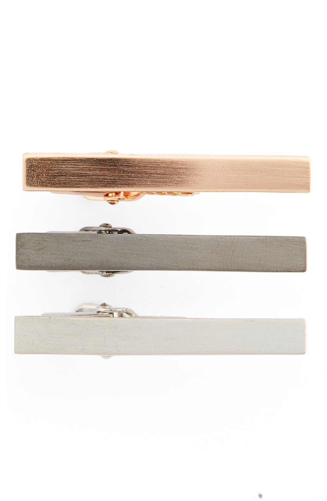 The Tie Bar Brass Tie Bar Gift Set (3-Pack)