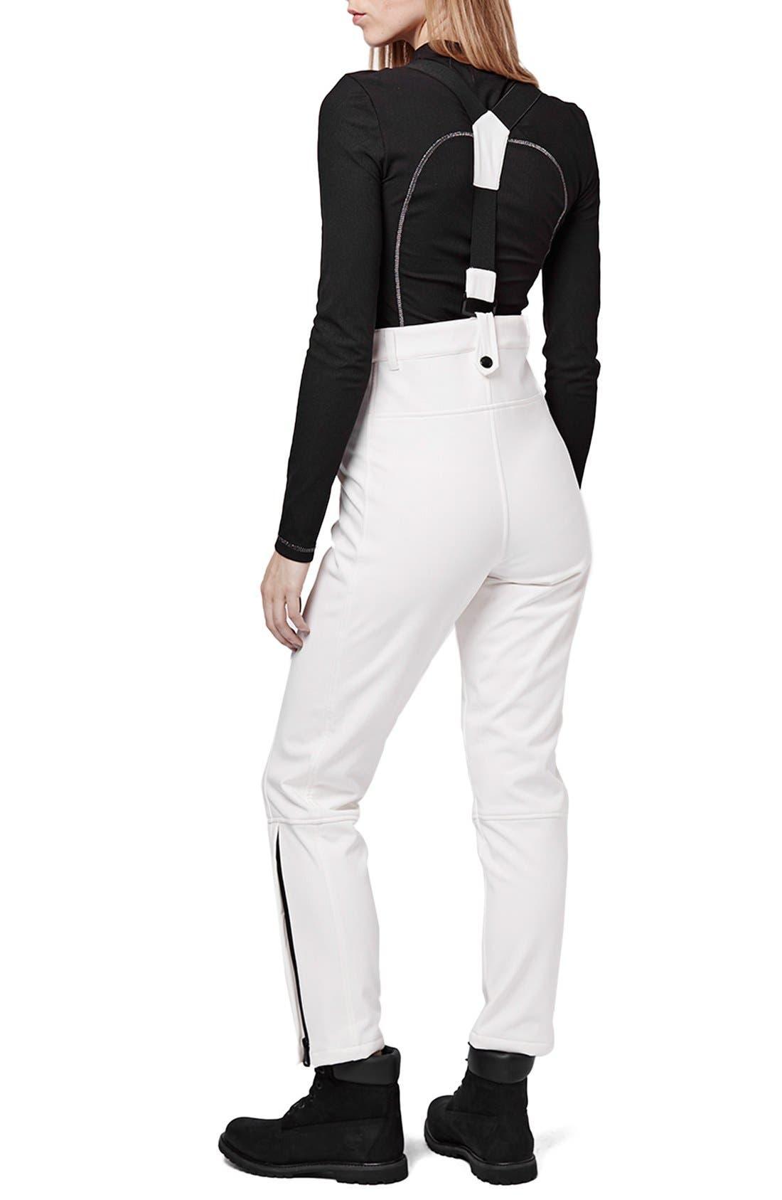 Alternate Image 3  - Topshop 'Tyrian' Overall Ski Pants