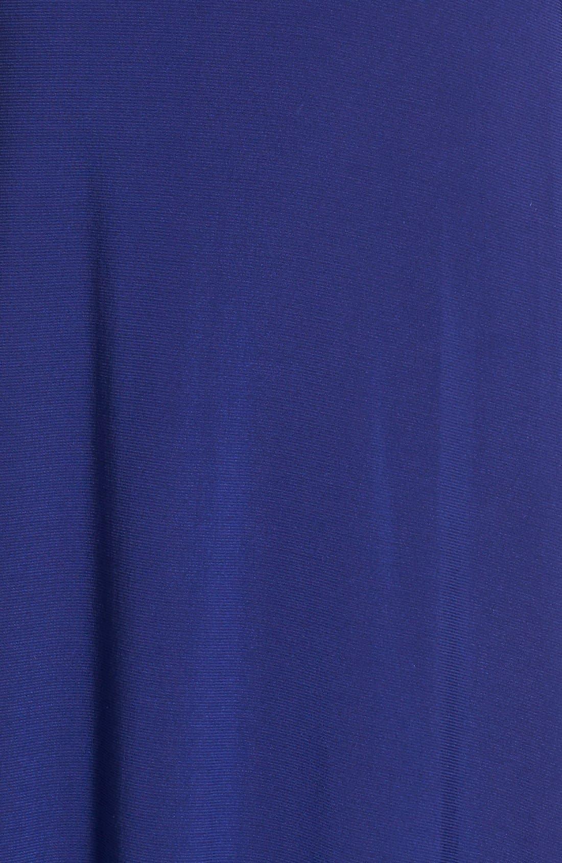 Alternate Image 5  - Morgan & Co. Sequin Halter Gown
