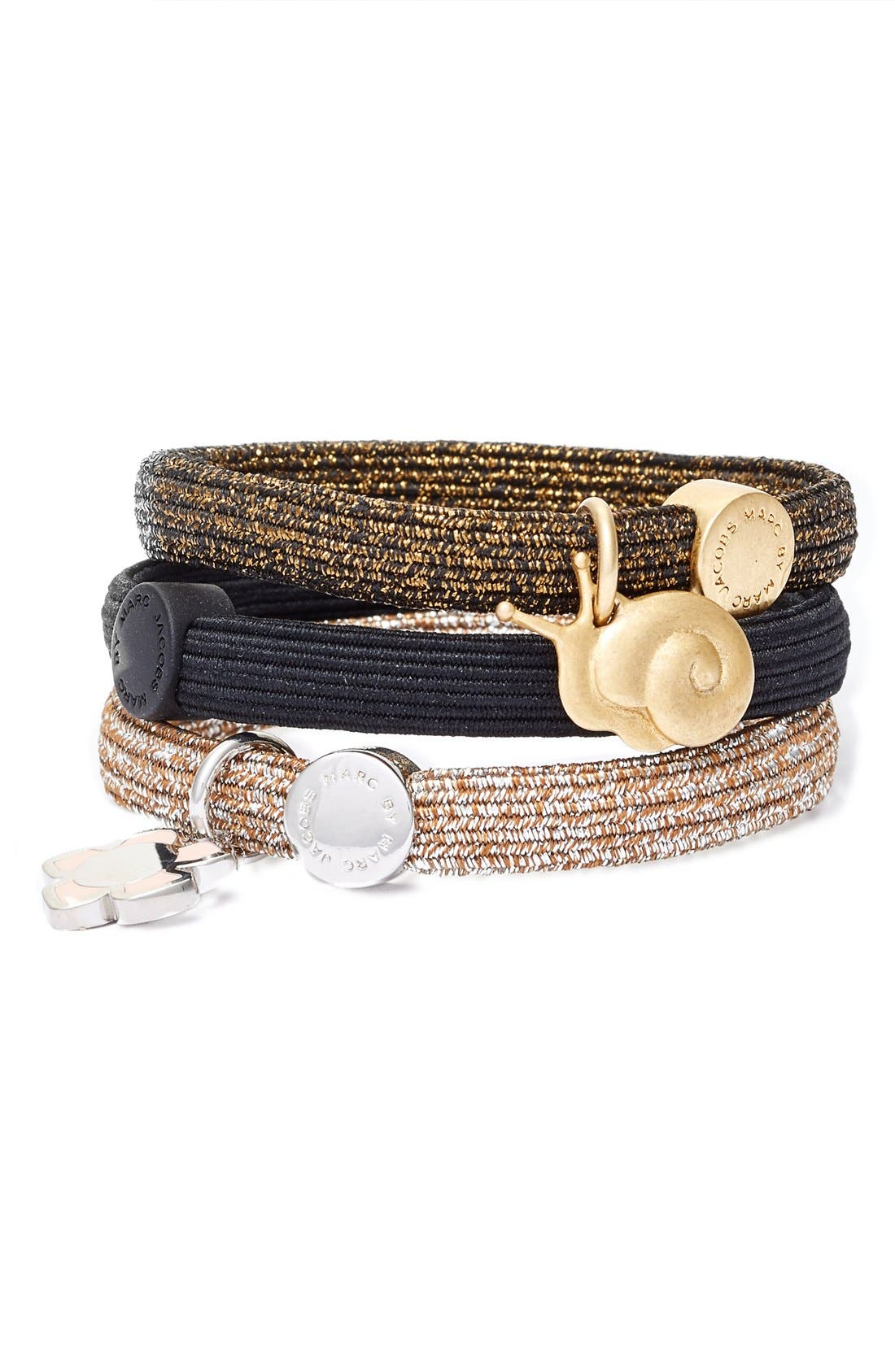 Main Image - MARC BY MARC JACOBS Snail Cluster Ponytail Holders