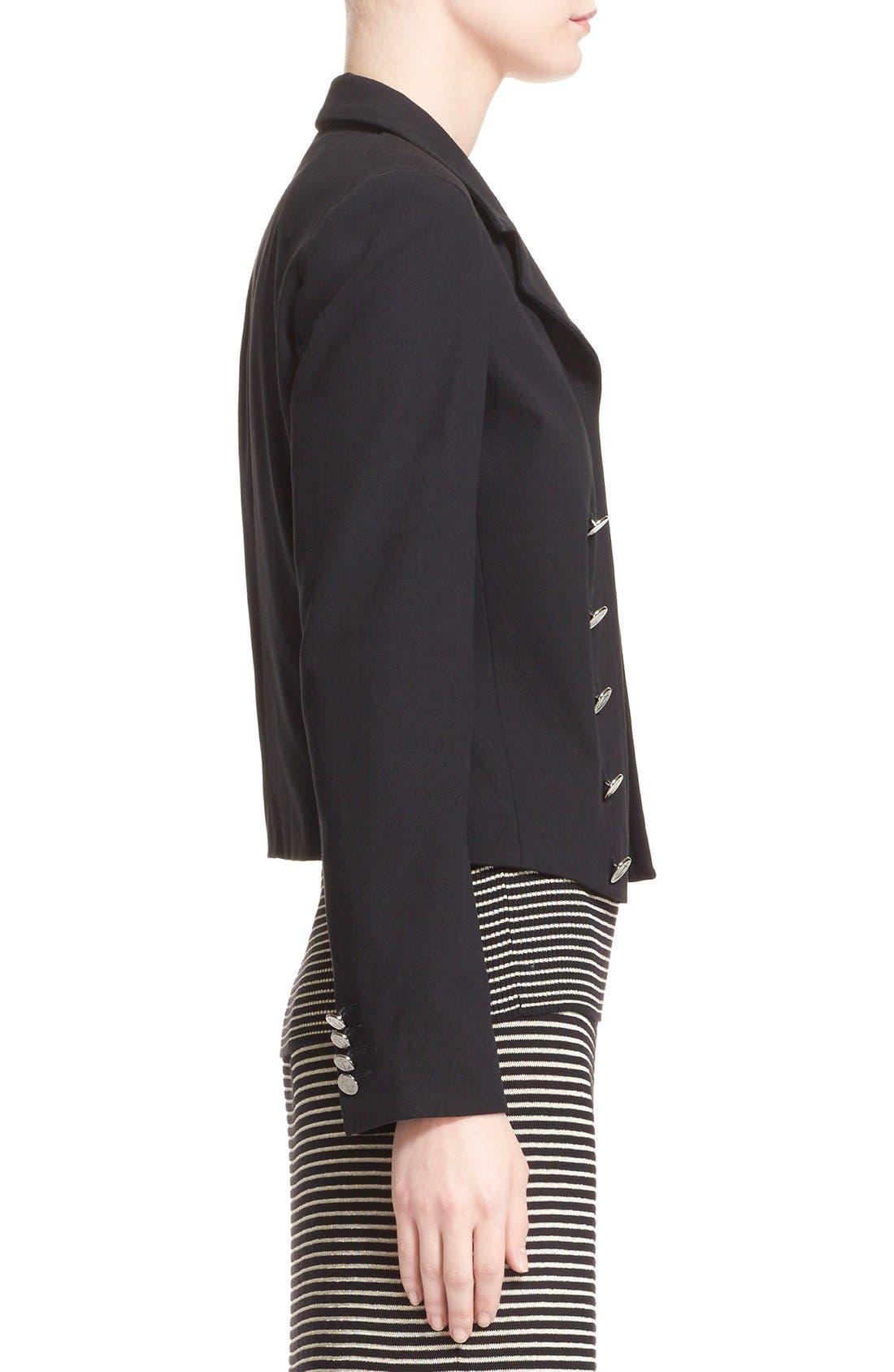 Alternate Image 5  - Max Mara 'Talpa' Stretch Cotton & Linen Jacket