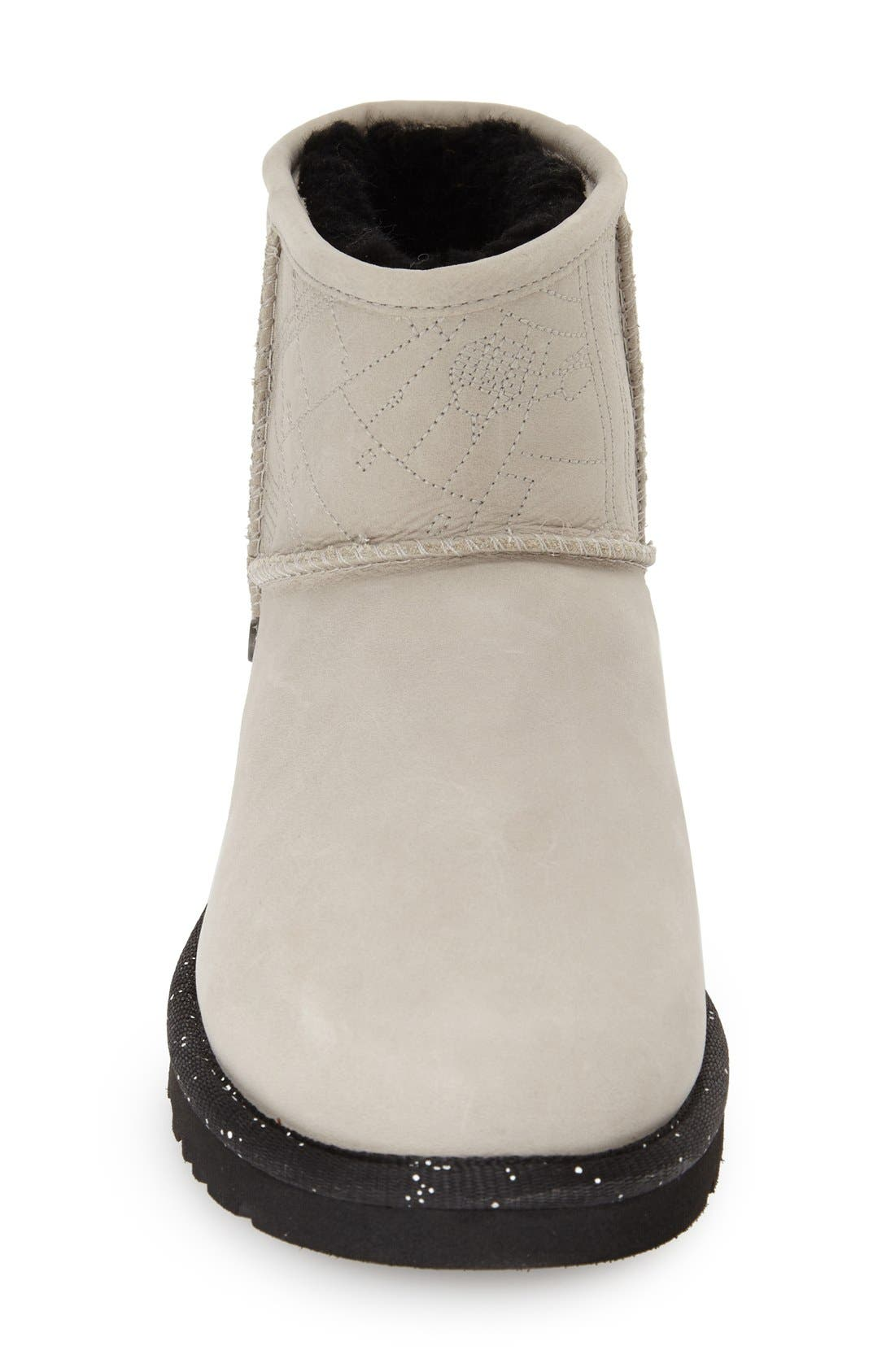 Alternate Image 3  - UGG® 'Star Wars Millennium Falcon - Classic Mini' Water Resistant Short Boot (Women)