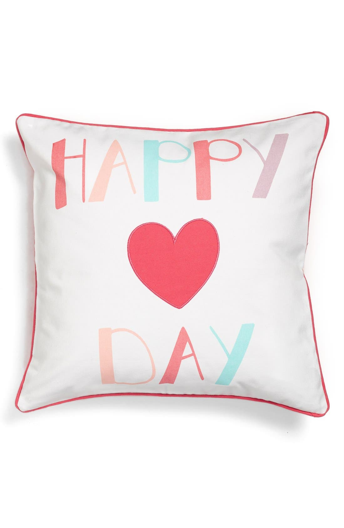 Alternate Image 1 Selected - Levtex 'Happy Day' Pillow