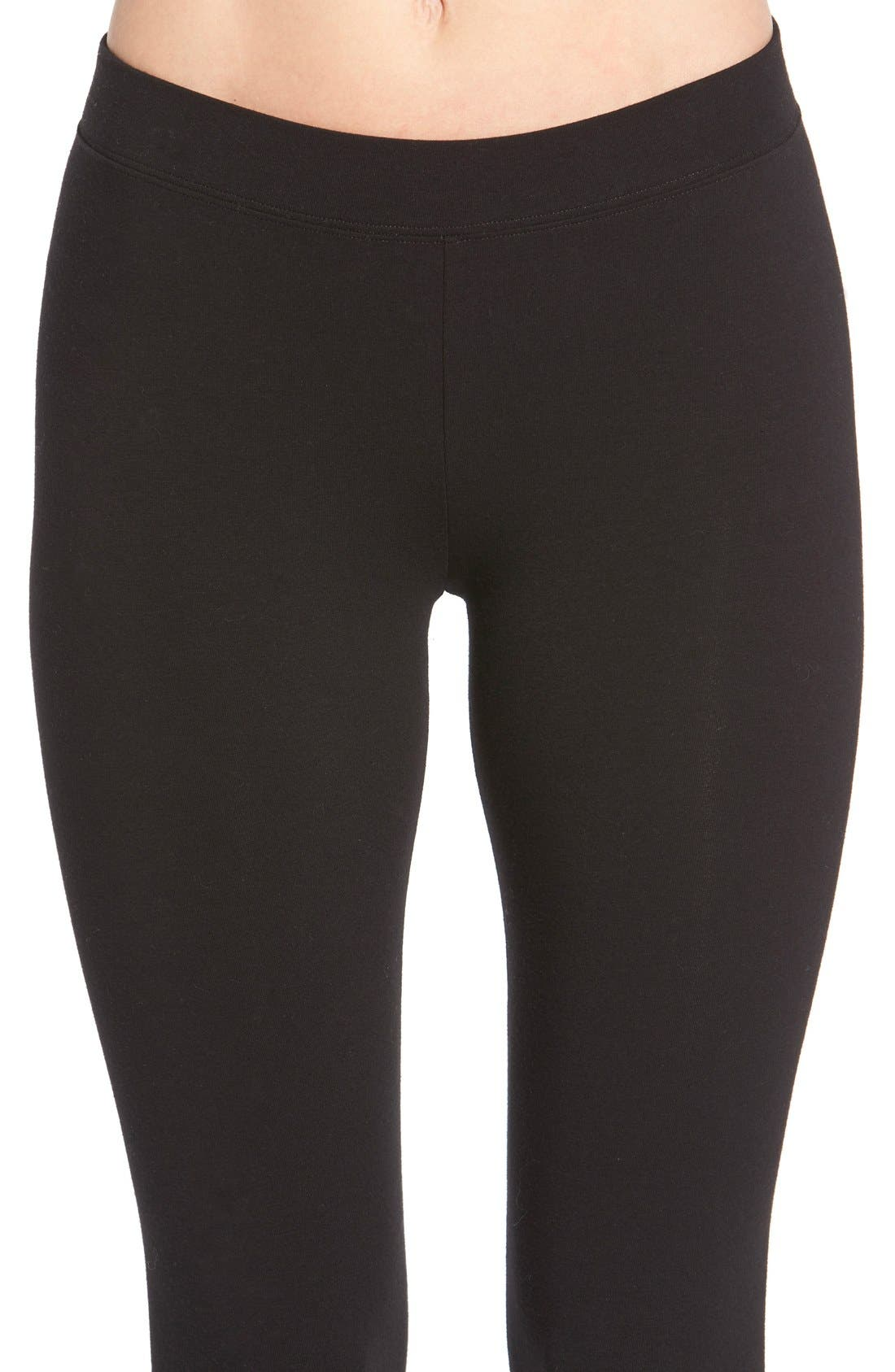 Alternate Image 4  - Nordstrom Go-To Skimmer Ankle Leggings