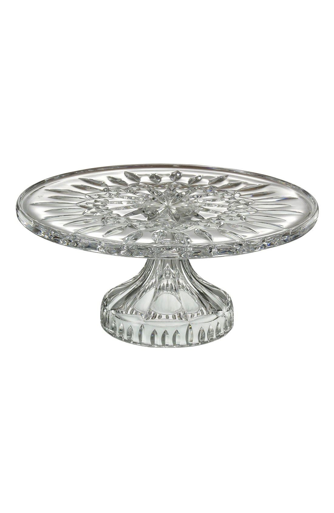 Alternate Image 1 Selected - Waterford 'Lismore' Lead Crystal Cake Stand